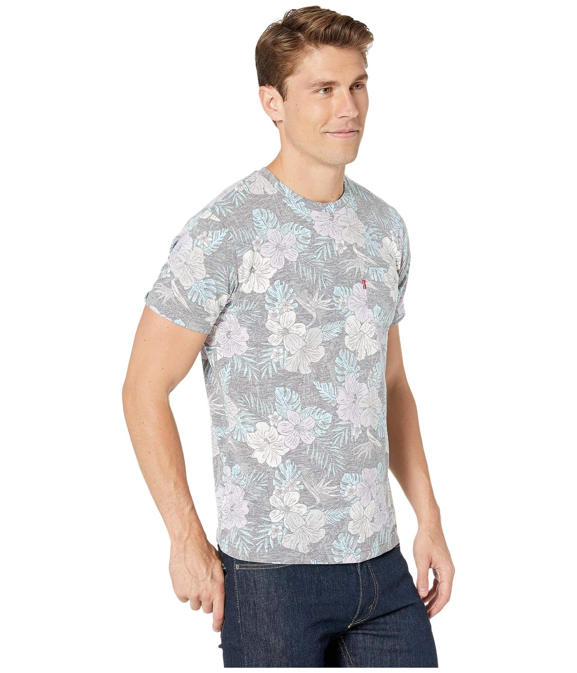 8cf43d1f8 Lyst - Levi's Levi's(r) Valley Short Sleeve T-shirt (dress Blues ...