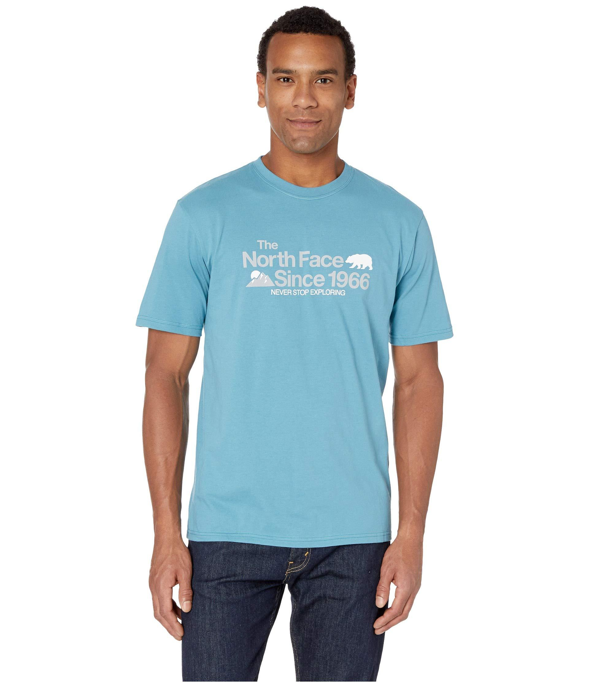 d330a23ee Blue Short Sleeve Bearitage Rights Tee (tnf White) Men's T Shirt