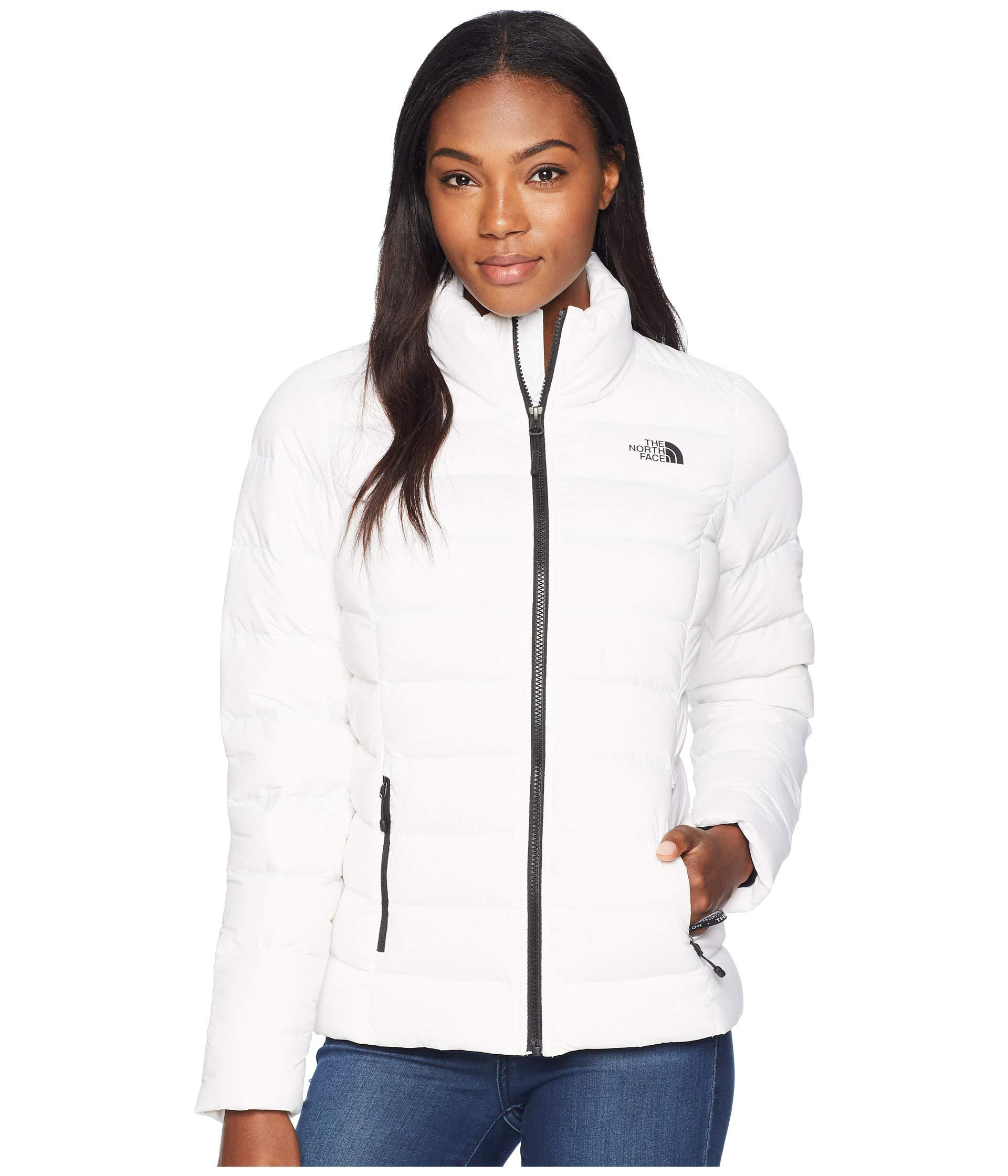 Lyst - The North Face Stretch Down Jacket (tnf Black) Women s Coat ... f15250300