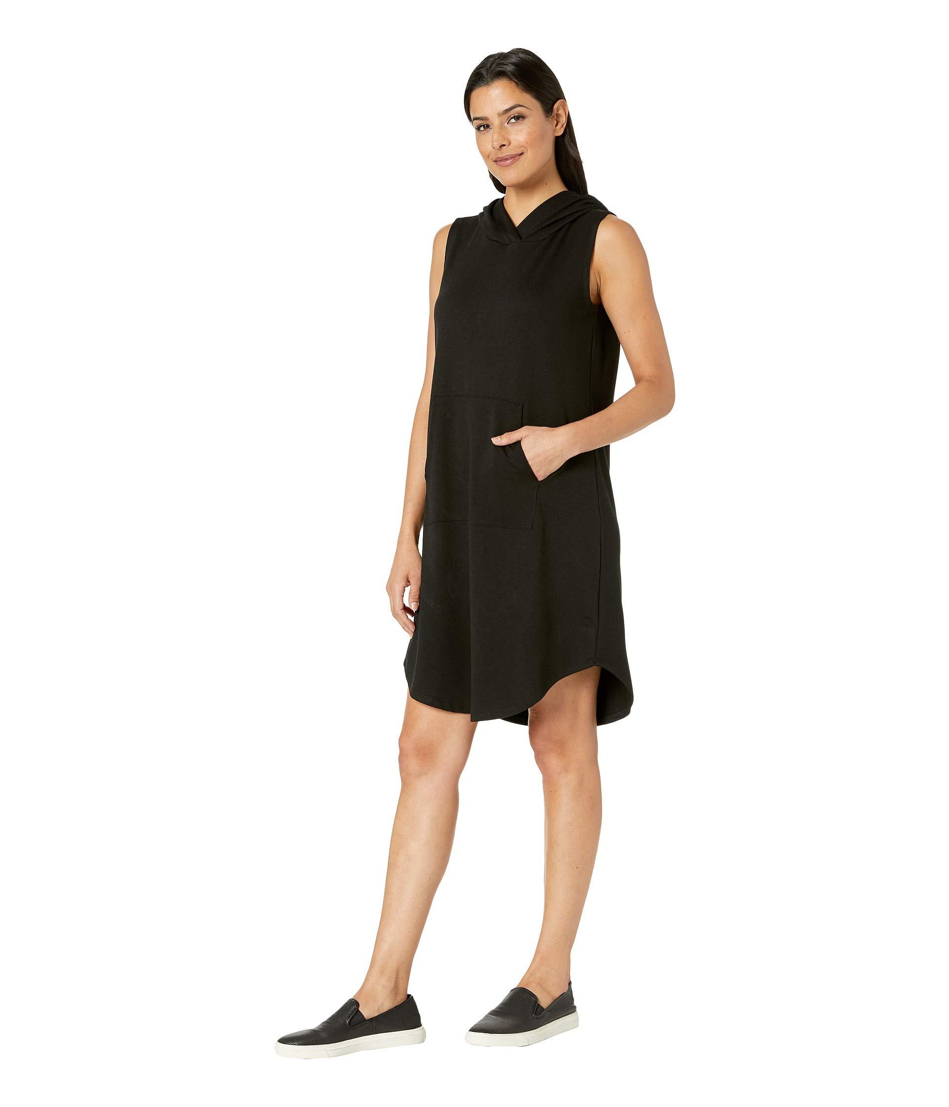 3d49c7591fedc0 Lyst - B Collection By Bobeau Sleeveless Hoodie Dress in Black