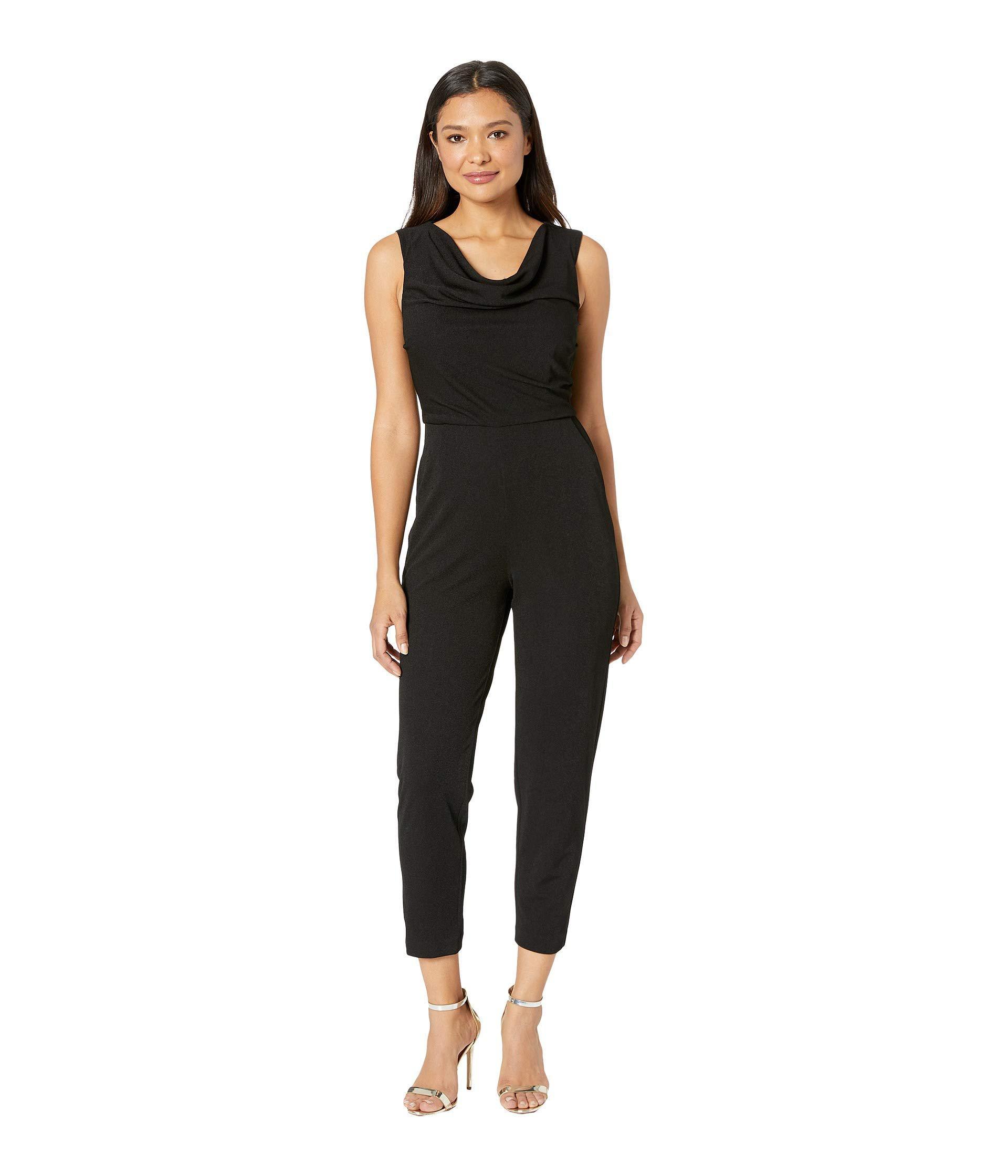 d82e9decb3c5 Maggy London. Evening Crepe Cowl Neck Jumpsuit (black) Women s Jumpsuit    Rompers ...