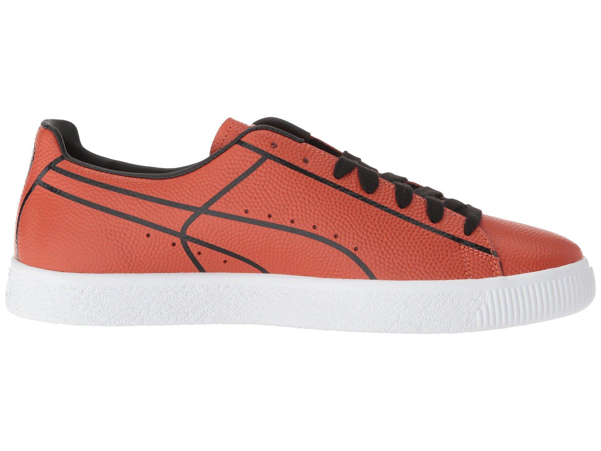 PUMA Leather Clyde Bball Madness for