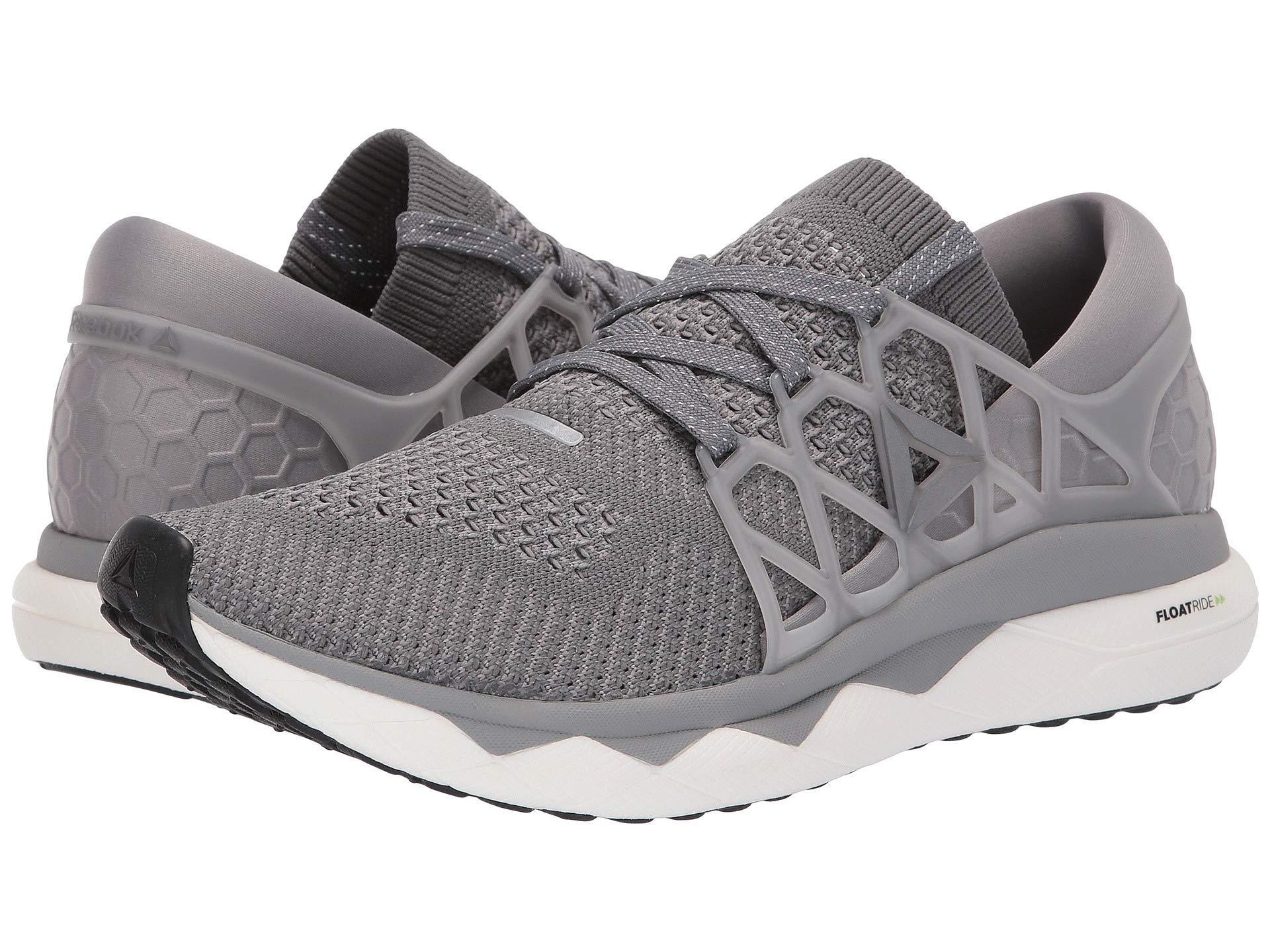 b02a194eacce96 Reebok. Gray Floatride Run Ultk (black gravel white) Men s Running Shoes