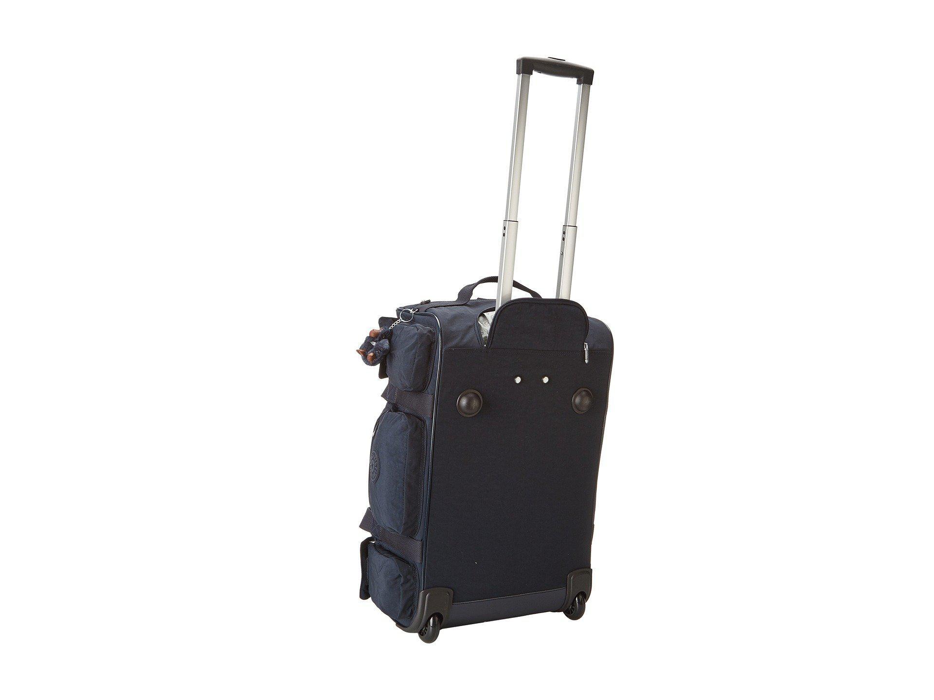 dce8488644 Kipling - Discover Small Wheeled Luggage Duffle (true Blue) Duffel Bags -  Lyst. View fullscreen