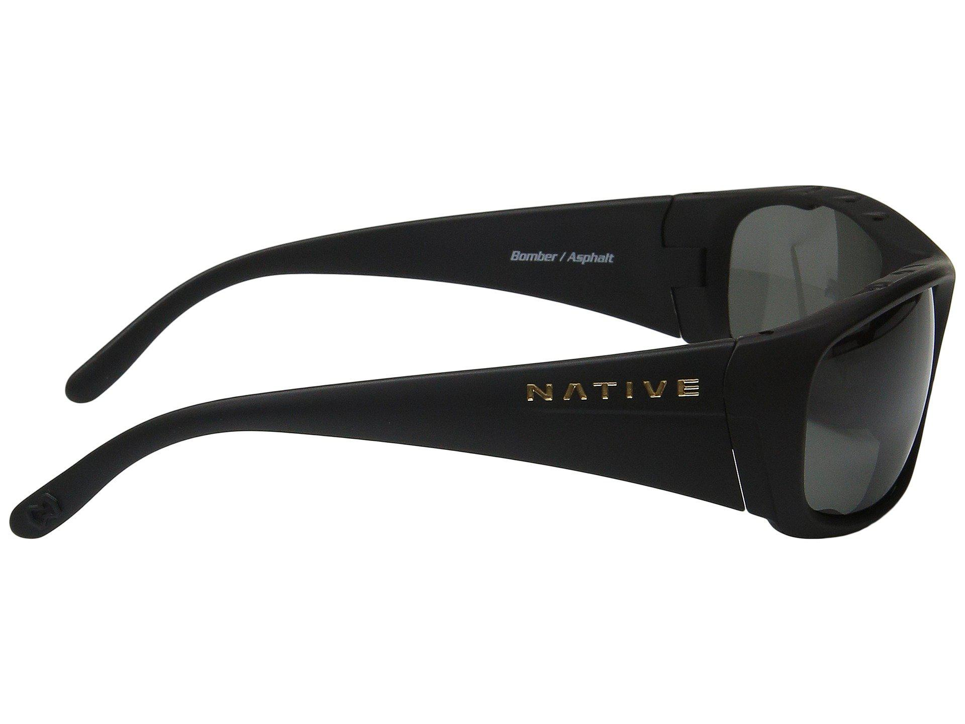 545ed67f5f Lyst - Native Eyewear Bomber (asphalt gray Lens) Sport Sunglasses in ...