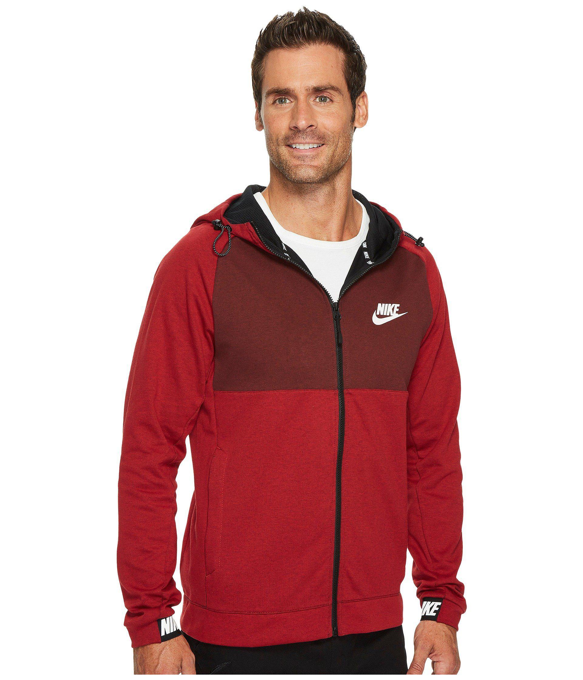 Nike Sportswear Advance 15 Men's Full Zip Hoodie Red price