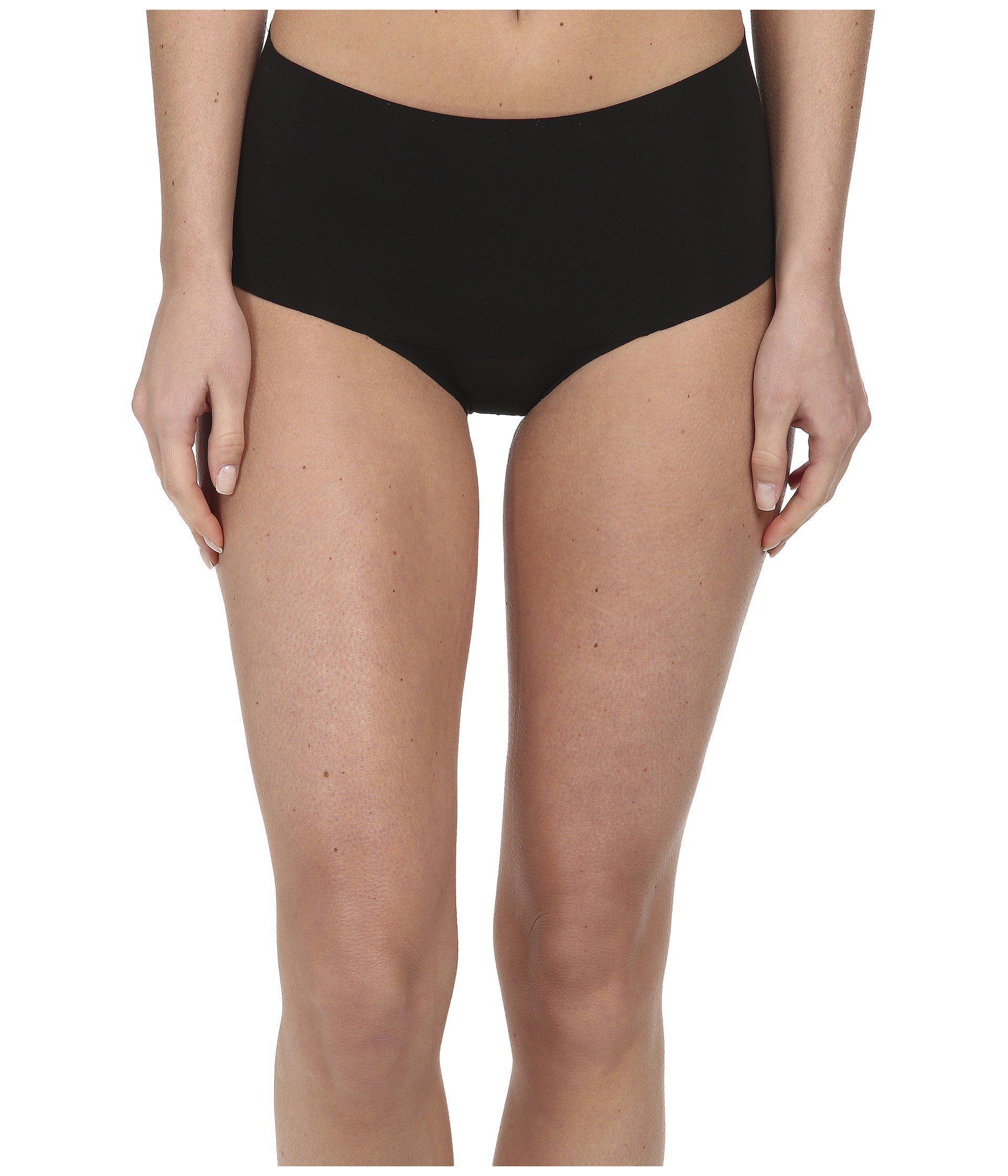 a0a02ac5c87 Lyst - Spanx Undie-tectable Brief (soft Nude) Women s Underwear in Black