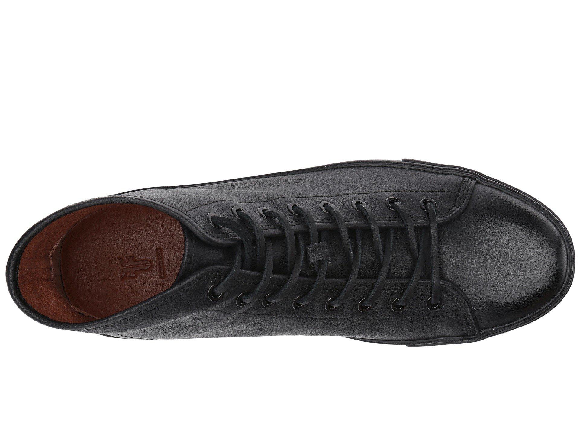 Frye Leather Brett High in Black for