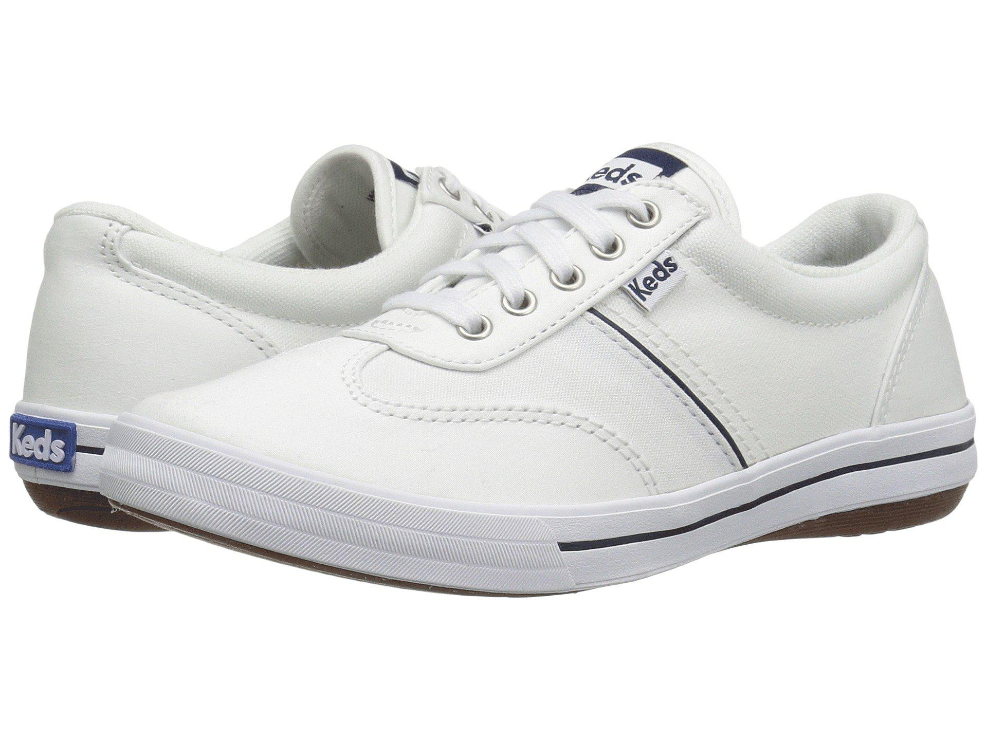 25c5b558ca56 Lyst - Keds Craze Ii Canvas (white Twill) Women s Lace Up Casual ...