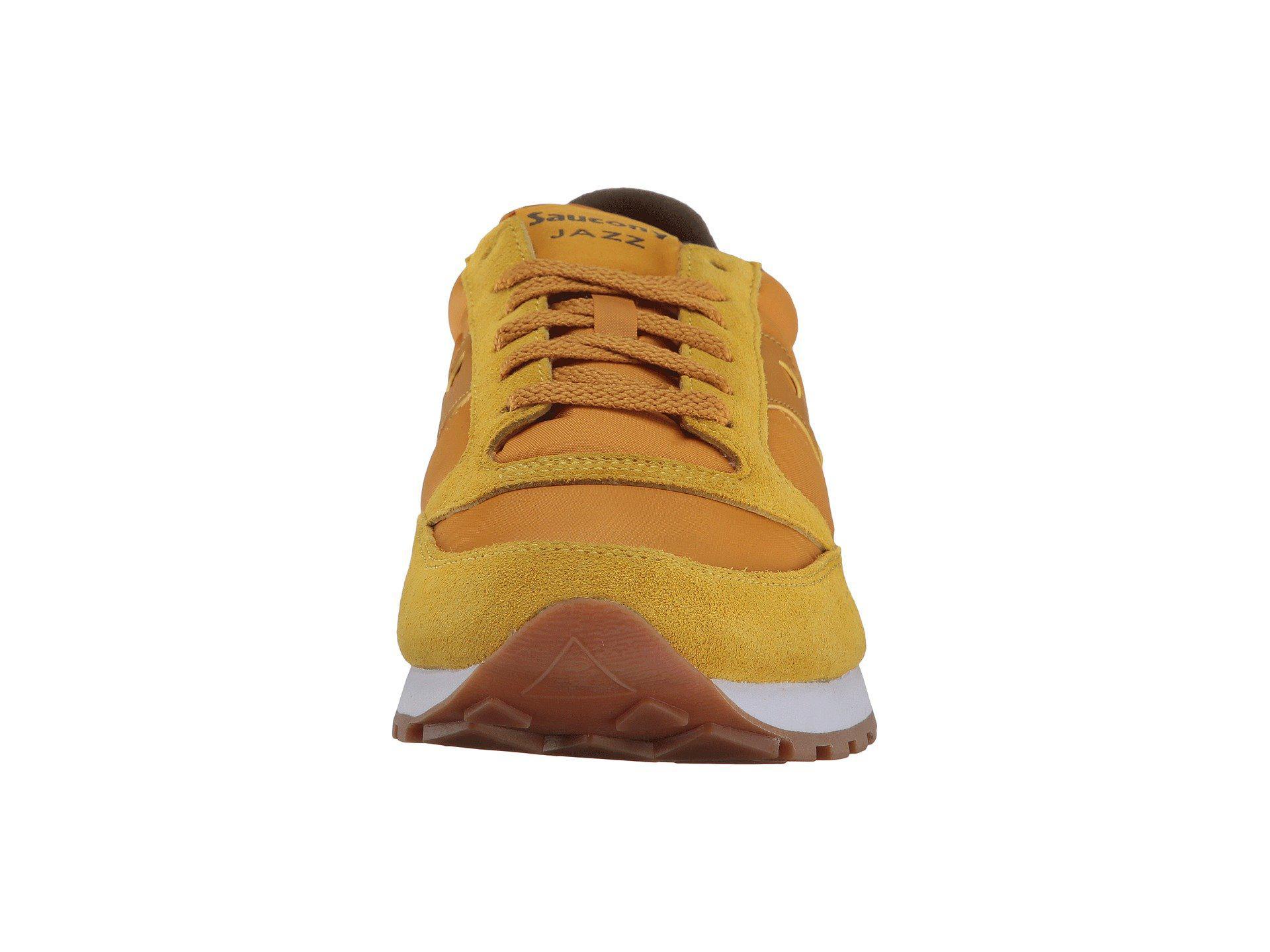 Saucony Originals Men's Jazz Original Sneaker, GoldBrown