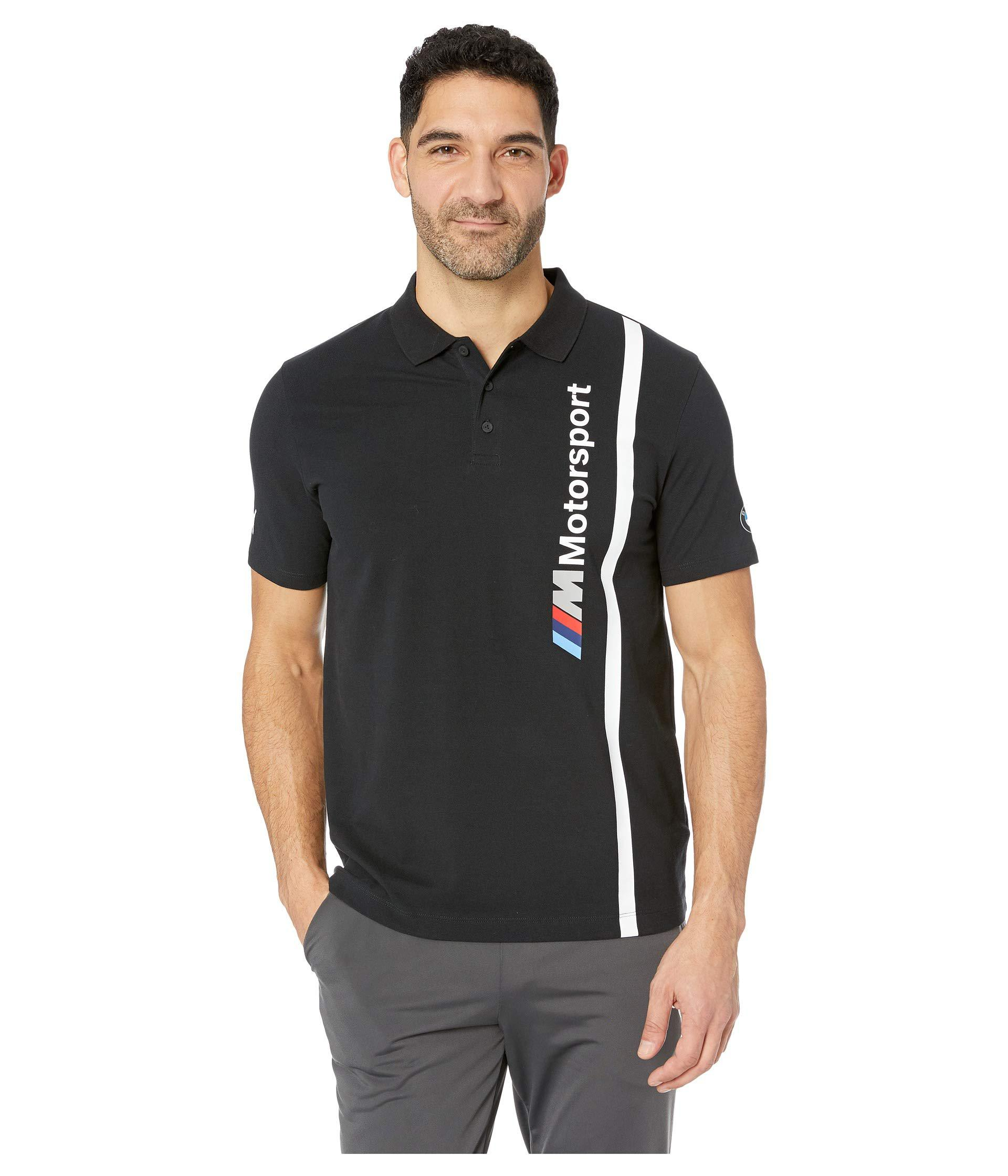 0179d3feb3a PUMA Bmw Mms Polo (anthracite) Men's Clothing for Men - Lyst