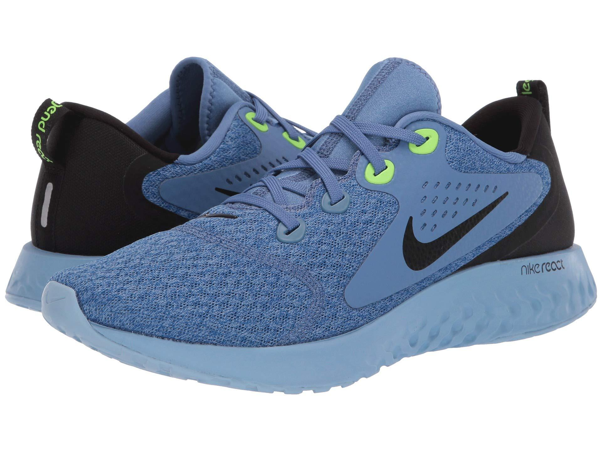 bff8e09523f3a Lyst - Nike Legend React (diffused Blue white blue Void) Men s ...
