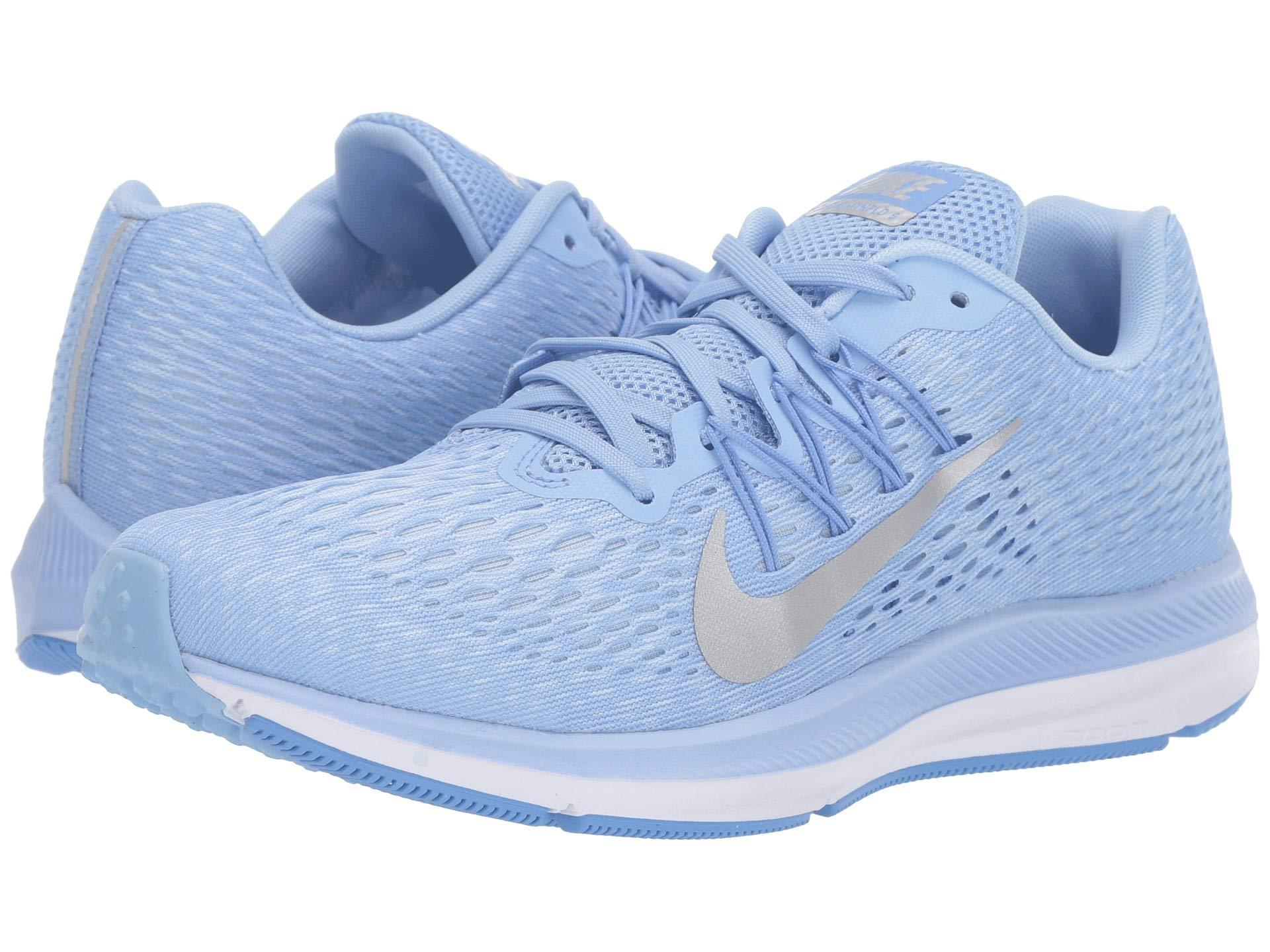 newest 9e30f 2384a Blue Air Zoom Winflo 5 (vast Grey/black/atmosphere Grey) Women's Running  Shoes