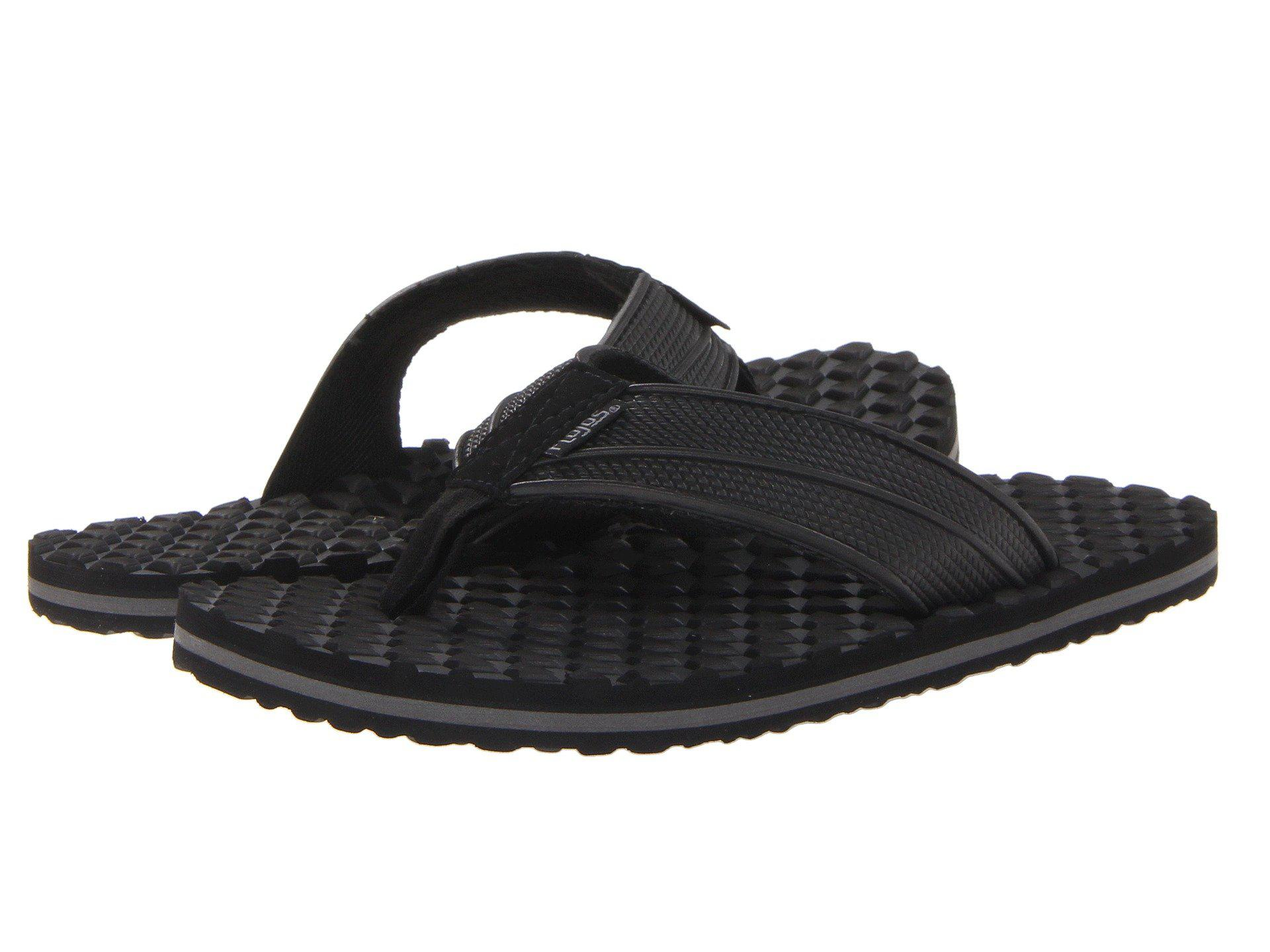 5982c2b1385c Lyst - Flojos Badlands (black light Gray) Men s Sandals in Black for Men