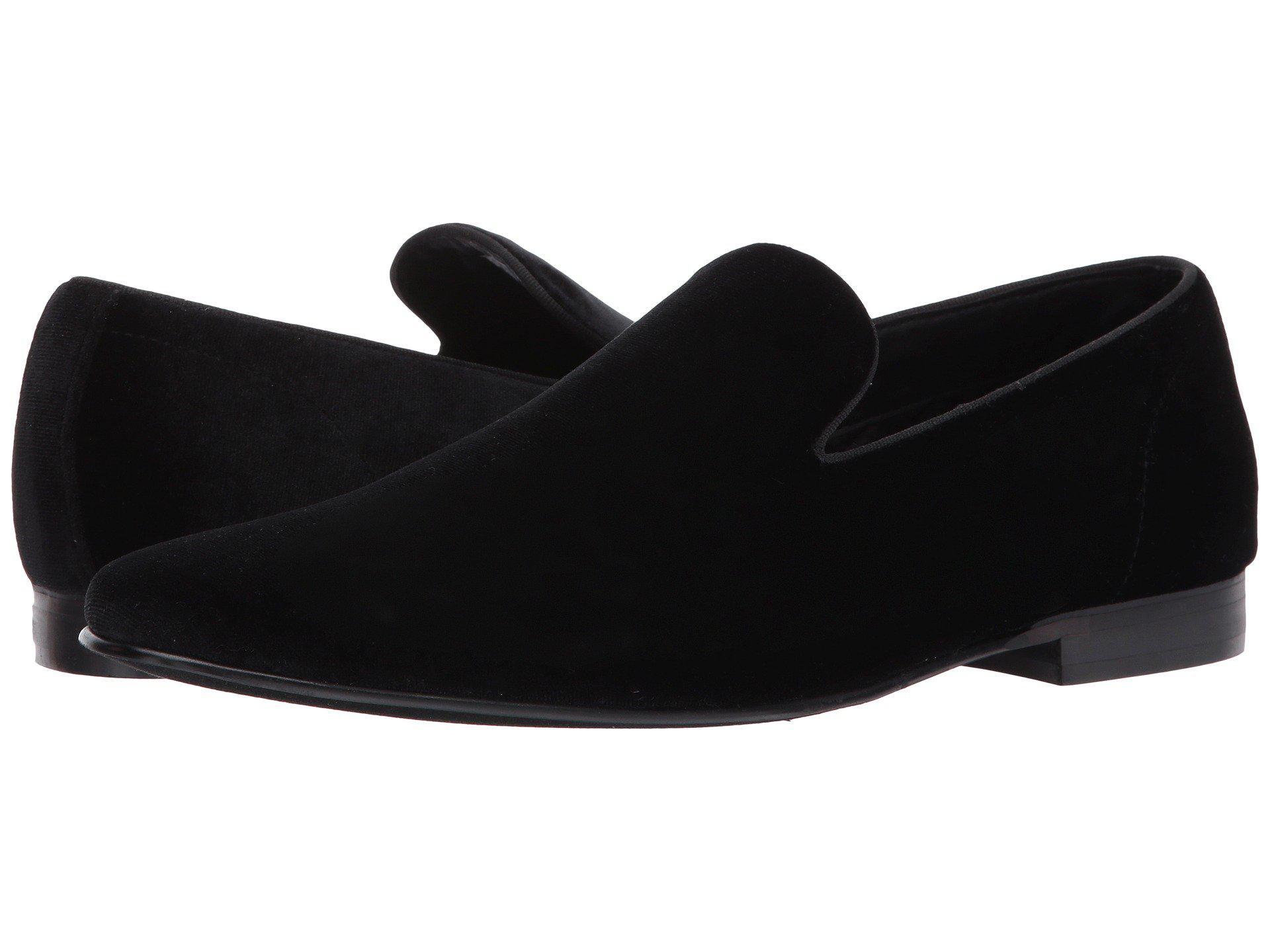 b3cb74632d7 Lyst - Steve Madden Laight (black Velvet) Men s Shoes in Black for Men