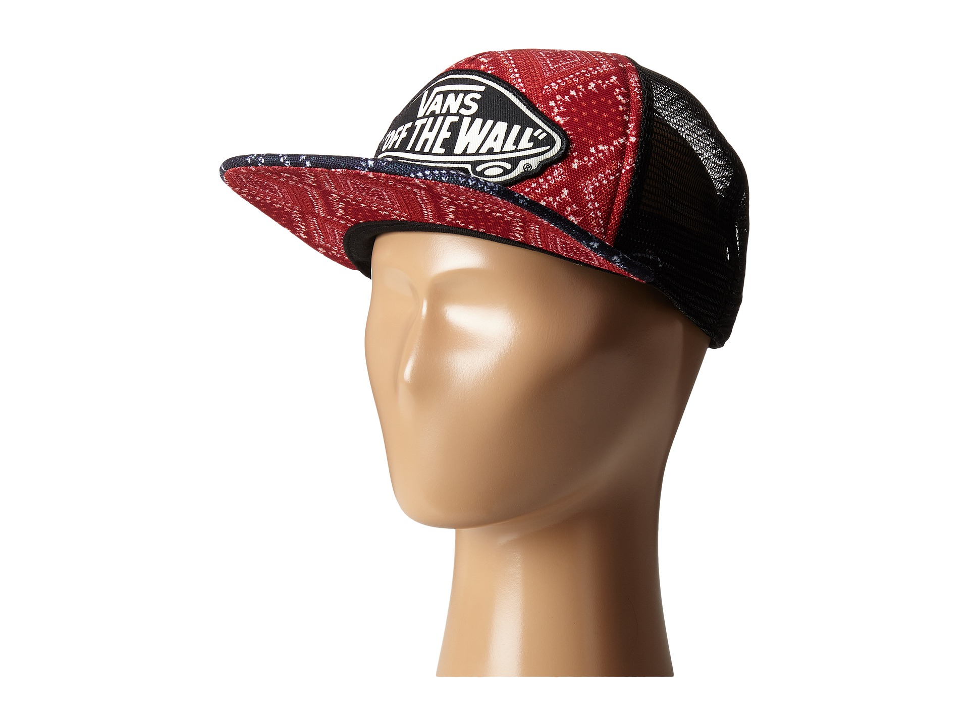 0efed954ba Lyst - Vans Trucker Hat In Hawaiian Tropical Print