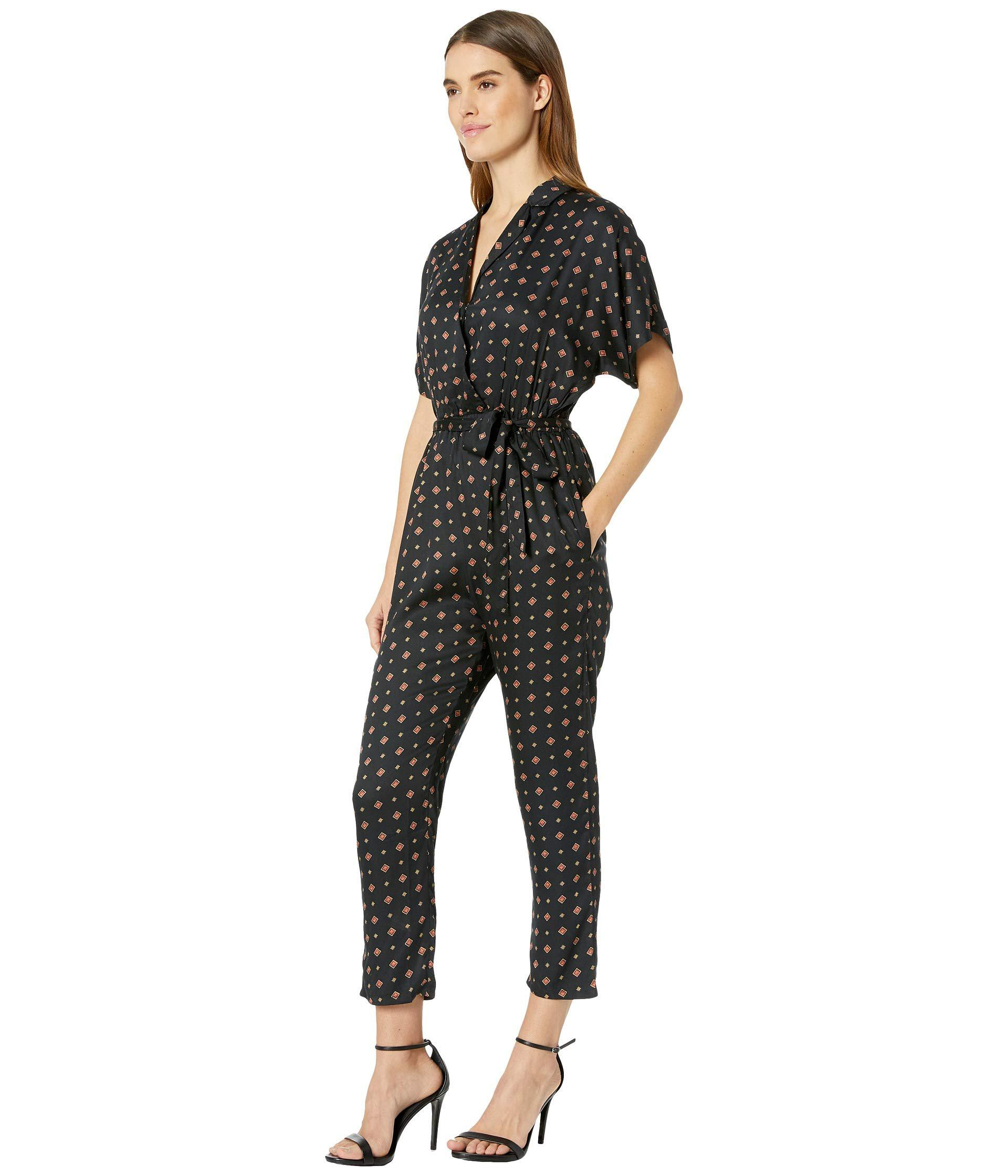 58bc2574543 Lyst - Billabong Bed Story Romper (black) Women s Jumpsuit   Rompers One  Piece in Black
