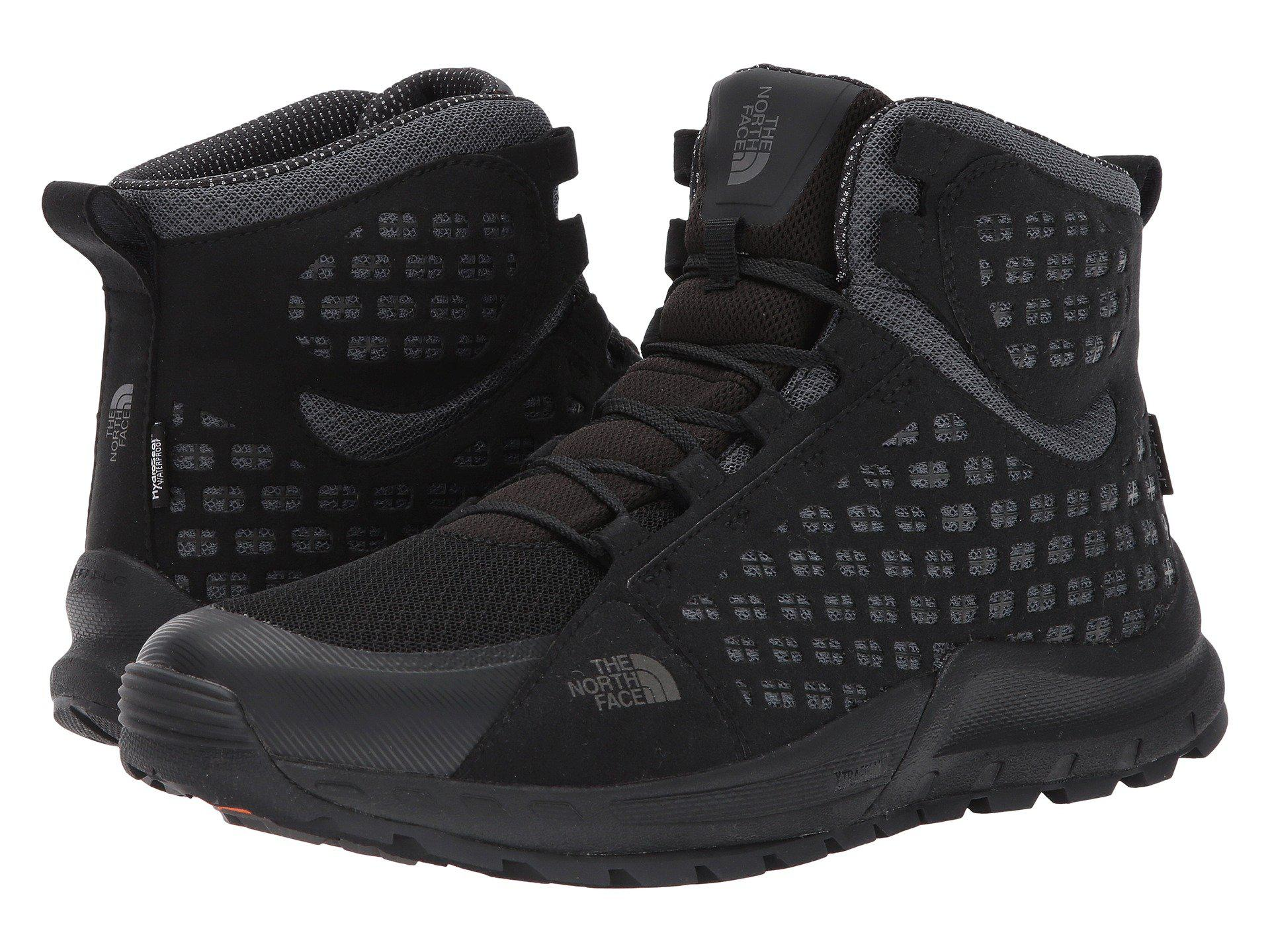 31405bf2c Lyst - The North Face Mountain Sneaker Mid Wp (tnf Black/smoked ...