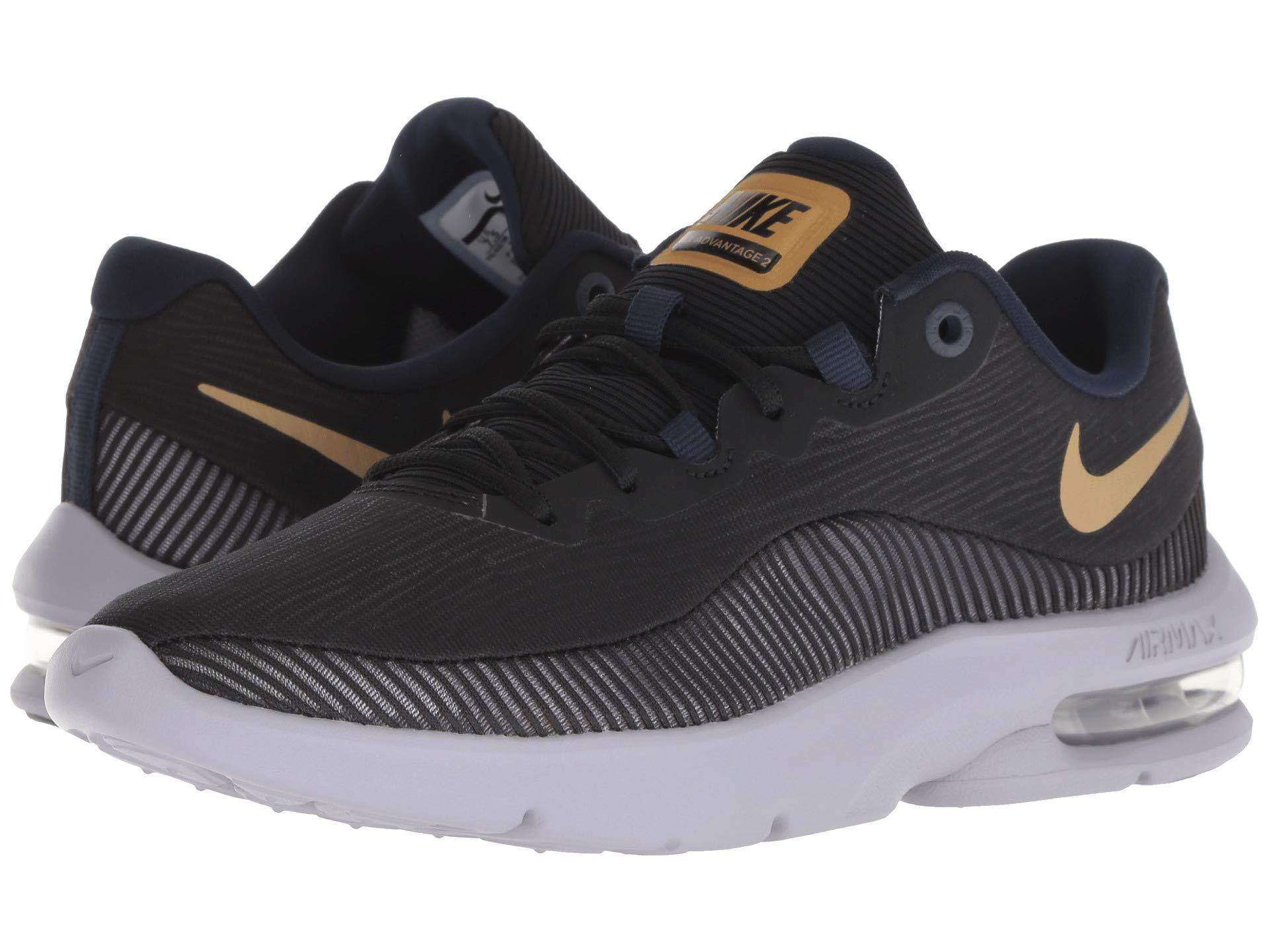 096babcbca Nike Air Max Advantage 2 (white/black) Women's Running Shoes in ...