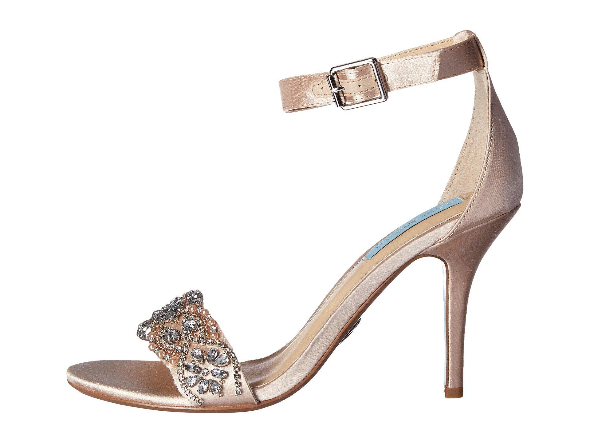 659a489a9a2 Lyst - Betsey Johnson Gina (champagne) Women s 1-2 Inch Heel Shoes