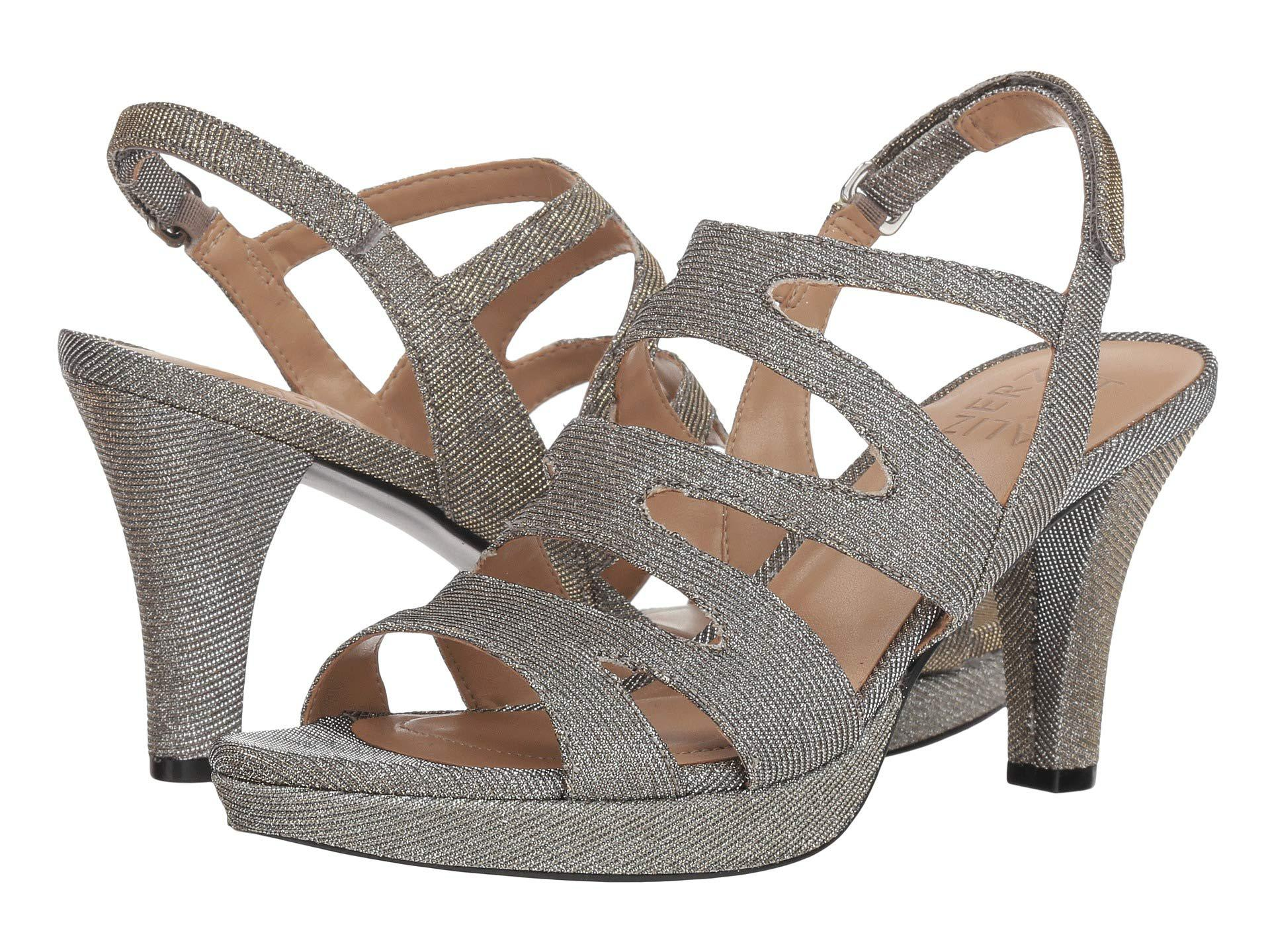d945dd6eed5a Lyst - Naturalizer Pressley (taupe Leather) High Heels