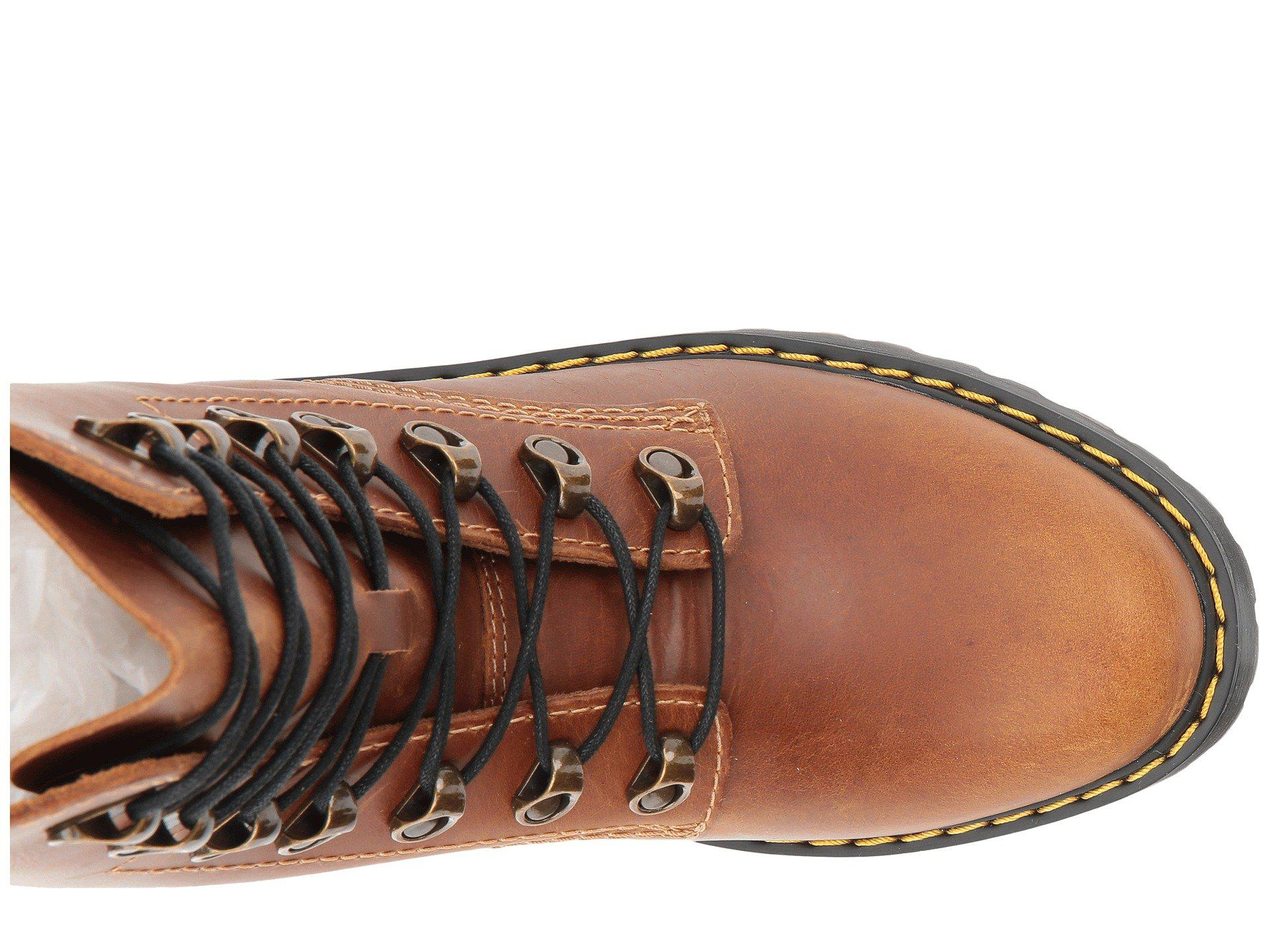 955f81f274 Dr. Martens 1460 Leona Vintage Smooth Boots in Brown - Lyst