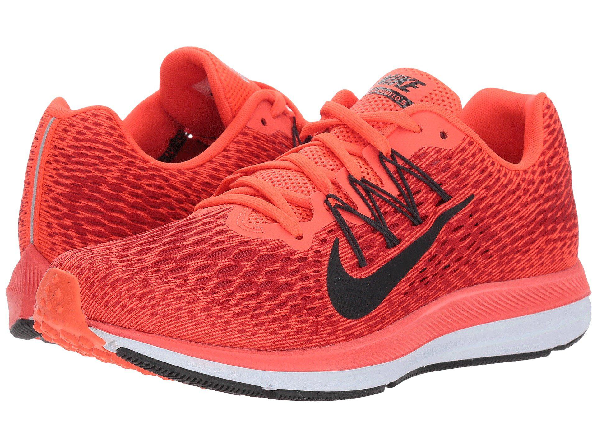 new styles 01c62 98deb Women's Red S Zoom Winflo 5 Running Shoes