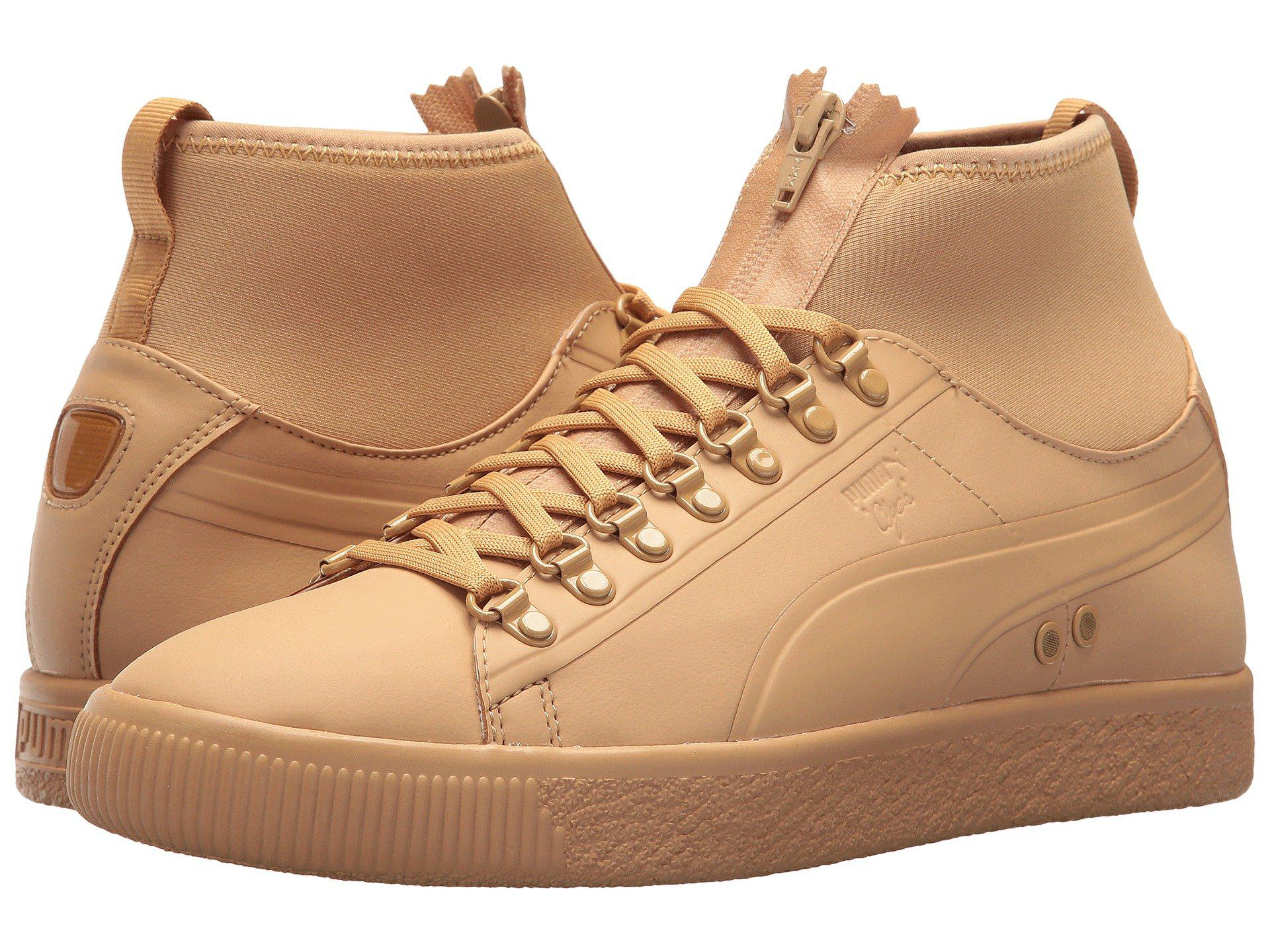 PUMA Synthetic Clyde Sock Rains in