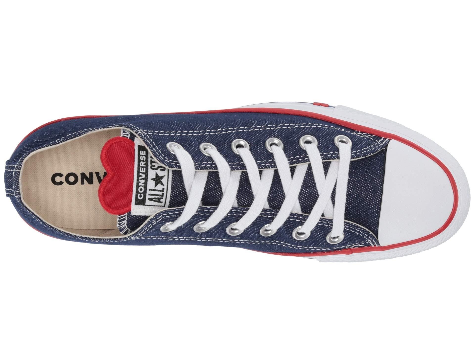 57a71434a440 Converse - Multicolor Chuck Taylor(r) All Star(r) Denim Love Ox. View  fullscreen
