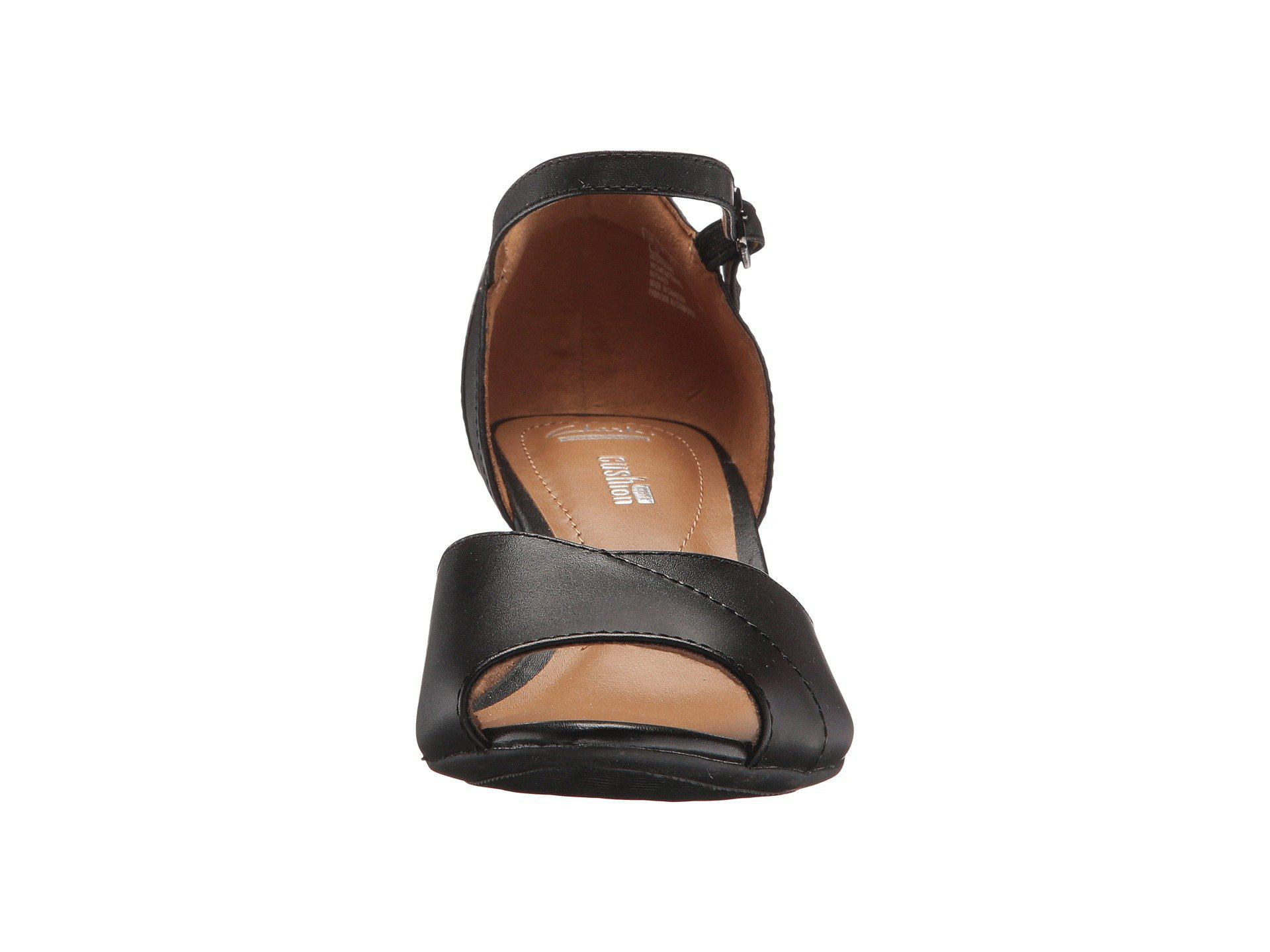 Clarks Leather Brielle Dacy In Black Lyst