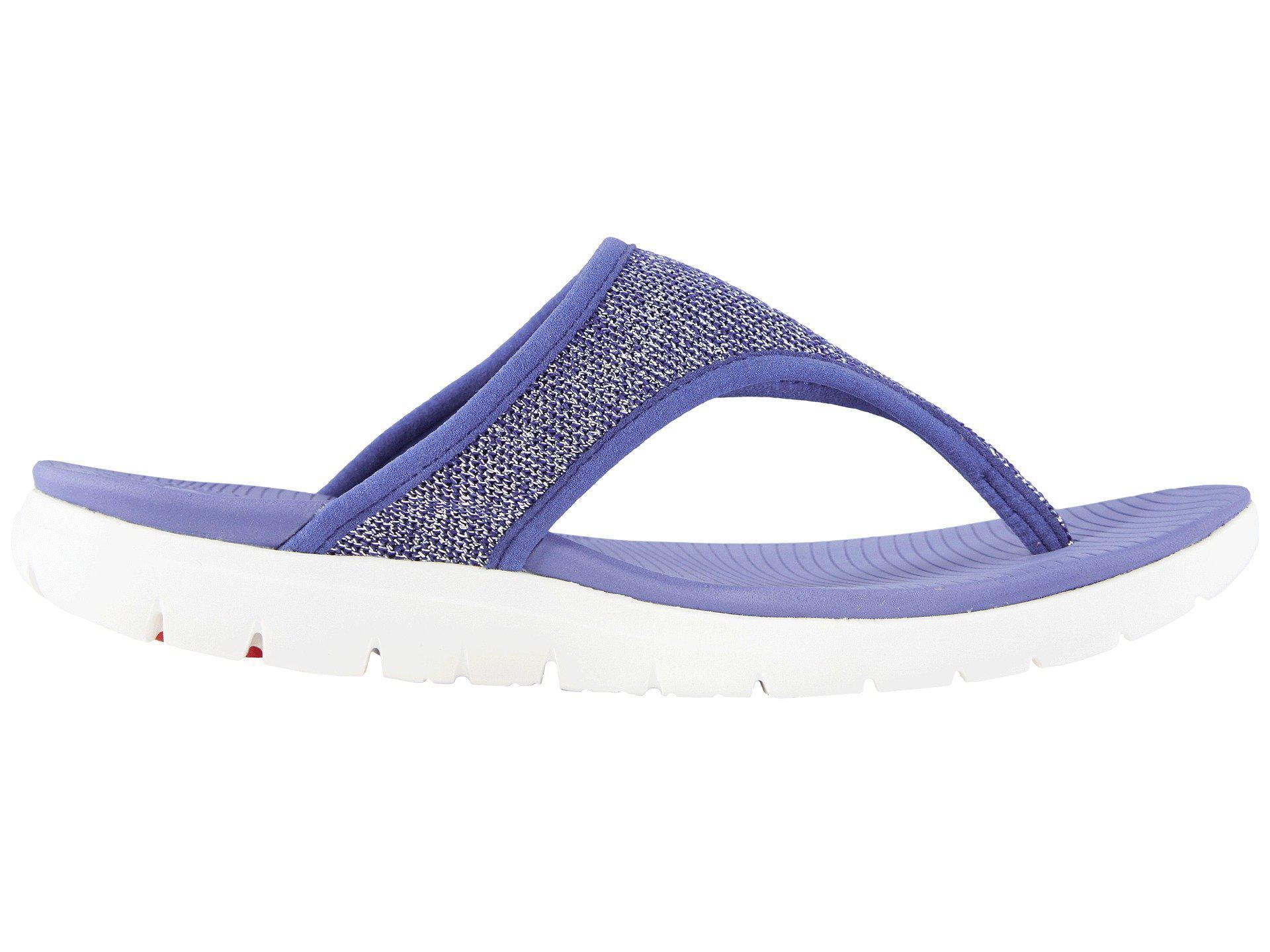 Fitflop Uberknit Toe Thong Sandals in