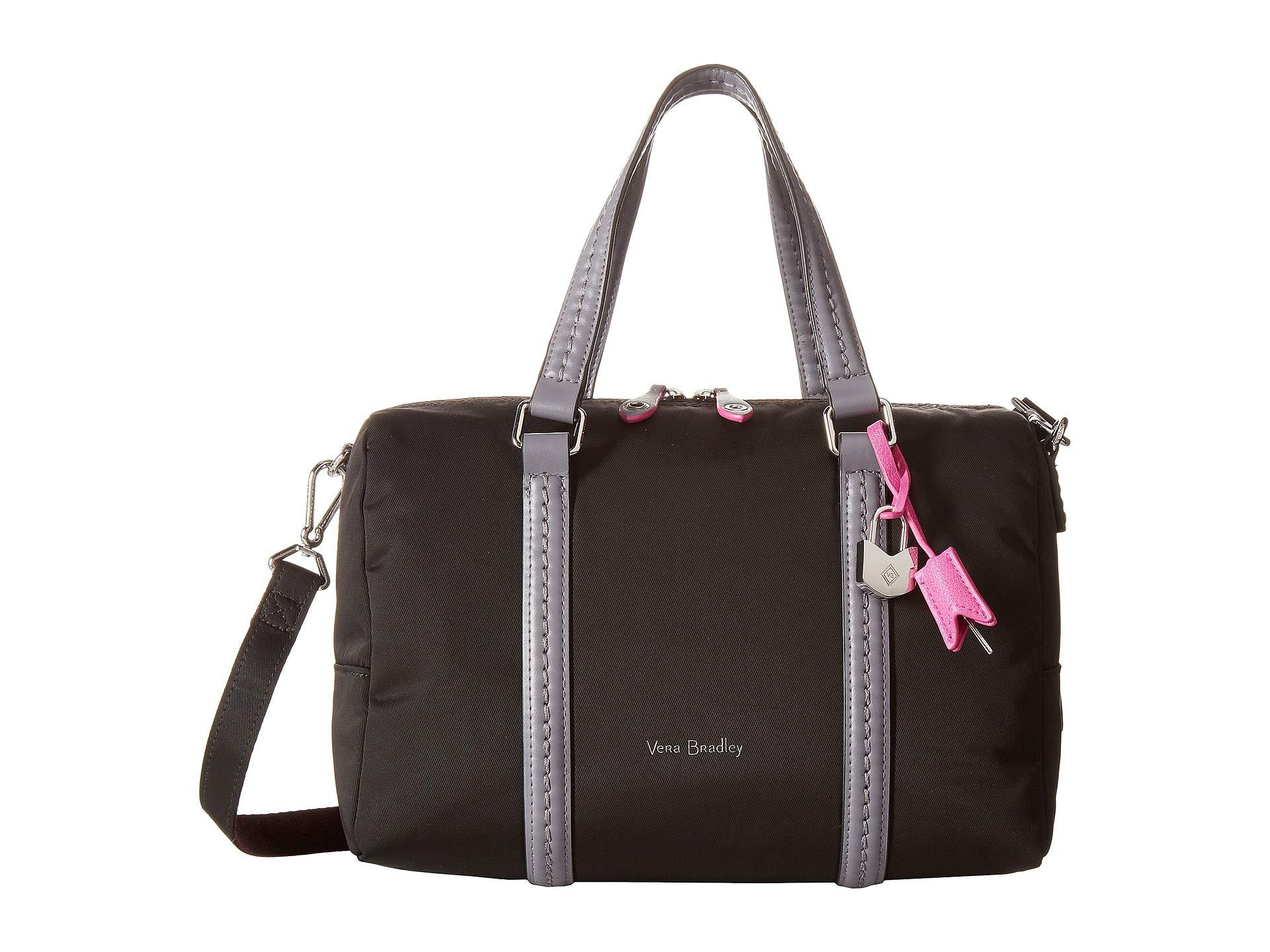 313b848a57 Vera Bradley - Midtown Satchel (black) Satchel Handbags - Lyst. View  fullscreen