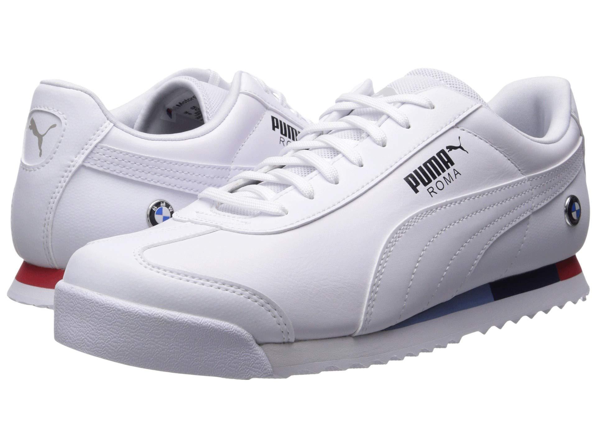 2c92d481e3d Bmw Mms Roma ( White/ White) Men's Shoes