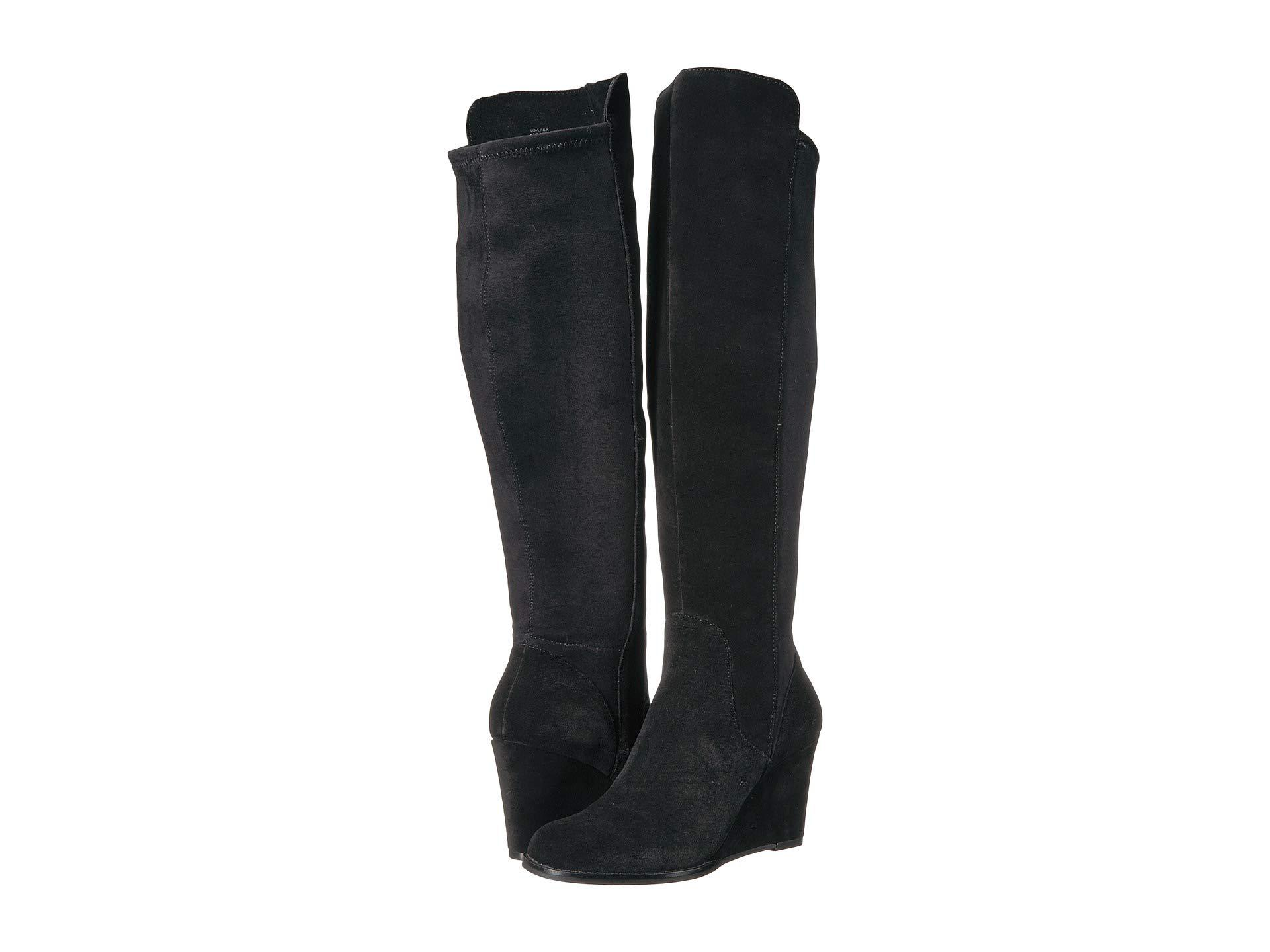 4f6047e592f Lyst - Sole Society Laila (taupe) Women s Boots in Black
