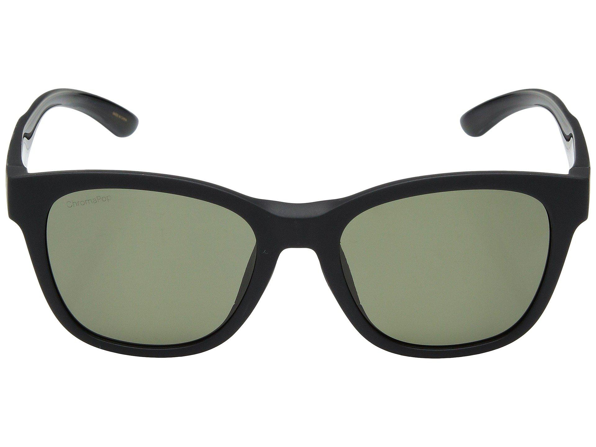 187ff73e33d Smith Optics - Caper (matte Black gray Green Chromapoptm Polarized Lens) Athletic  Performance. View fullscreen