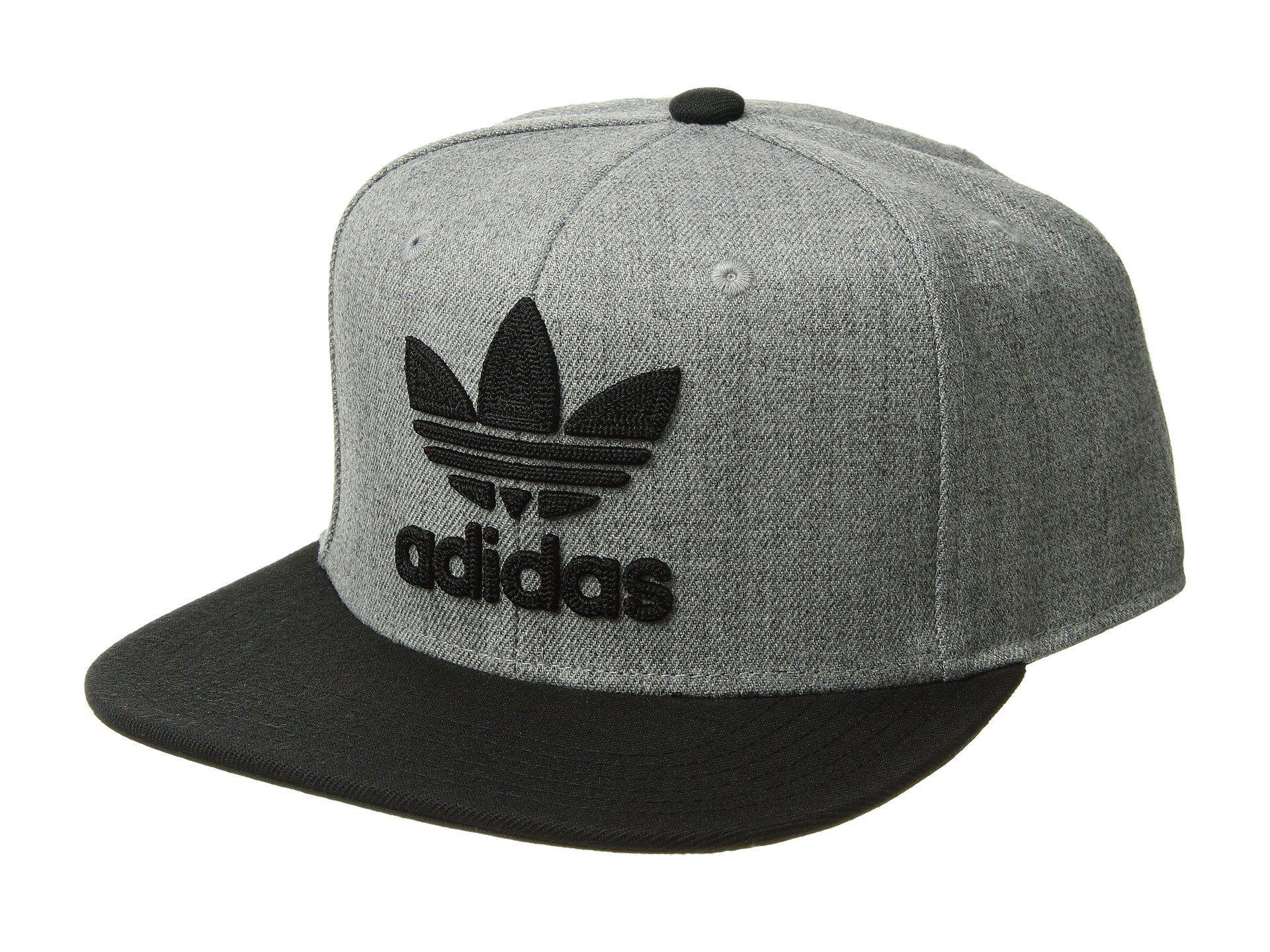 1433e3c9dc1 Adidas Originals - Gray Originals Trefoil Chain Snapback Cap (heather  Grey black) Caps. View fullscreen