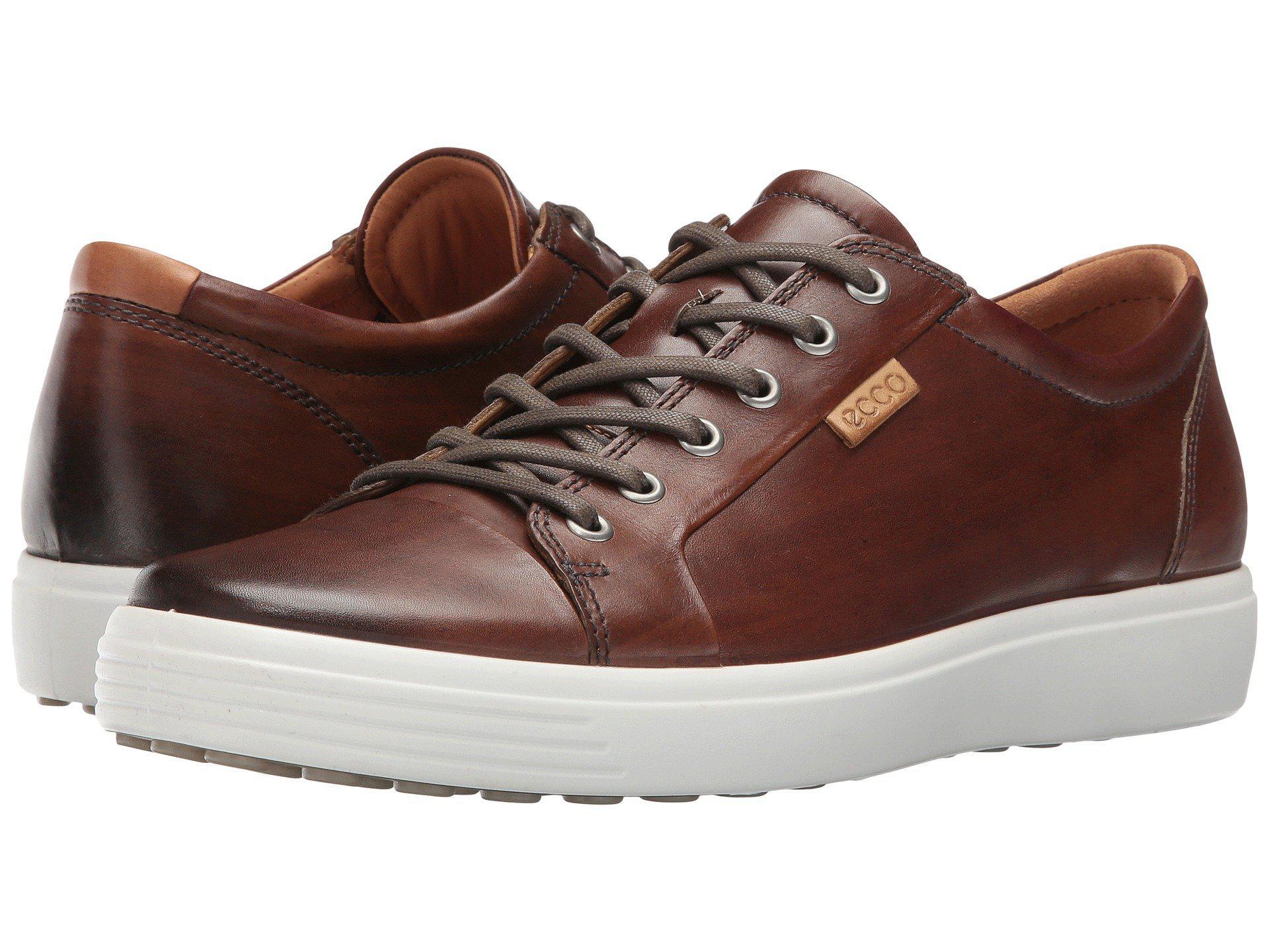 Ecco Leather Soft 7 Premium Tie (whisky