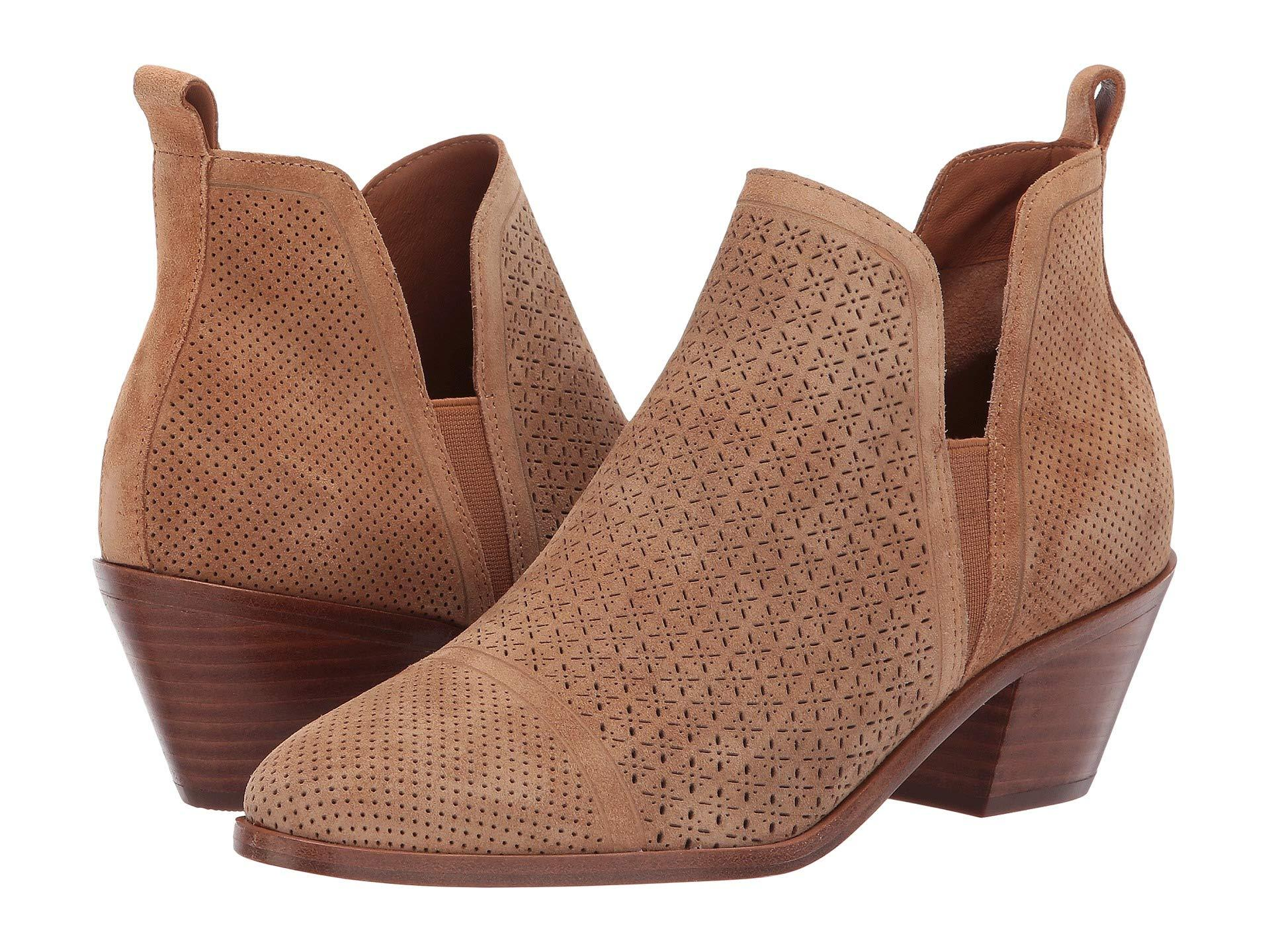 1c6660a1120 Lyst - Sigerson Morrison Belle Ankle Boot (ardesia Suede) Women s ...