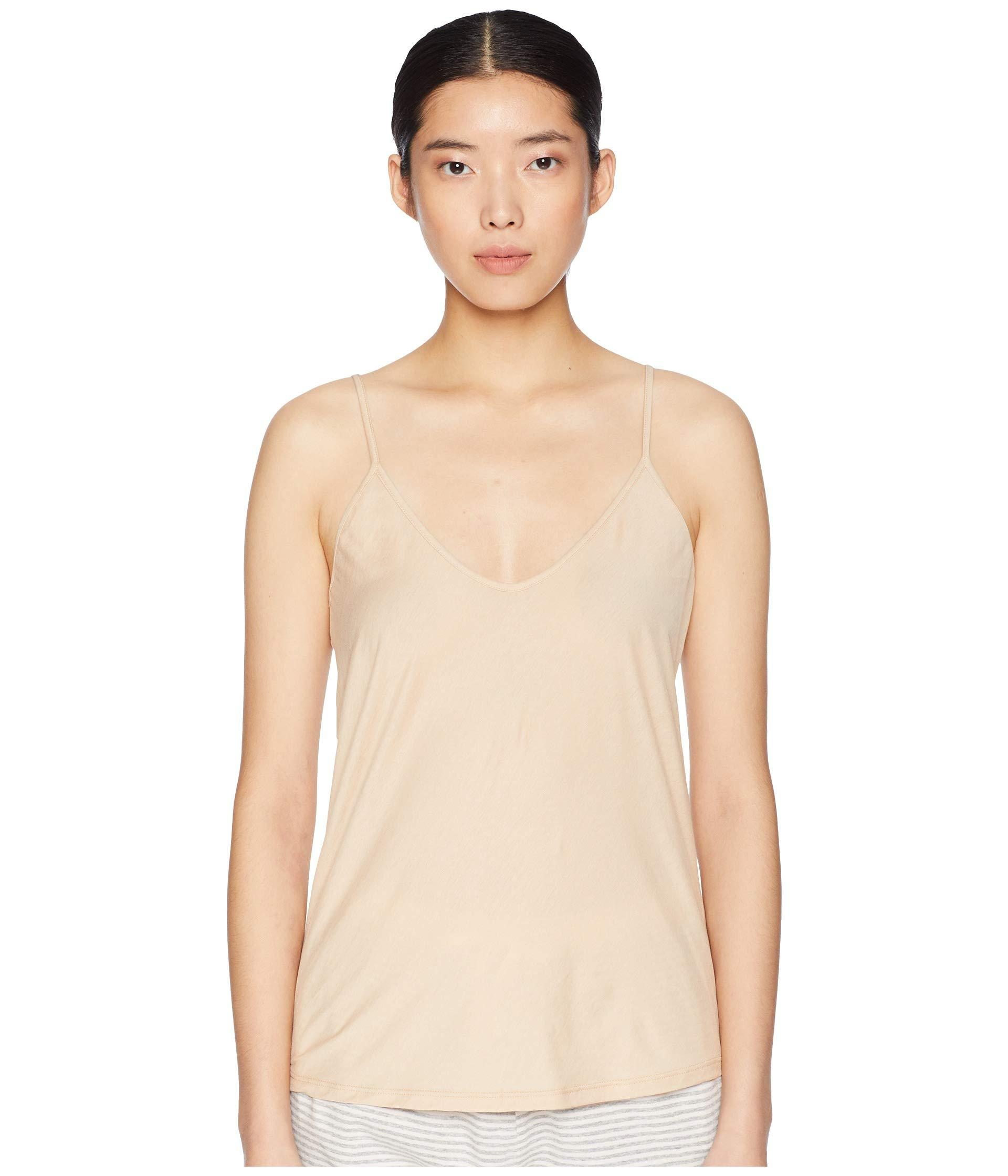 Lyst - Skin Sexy Cami Single Jersey (white) Women s Pajama in Natural 56a28e5ba