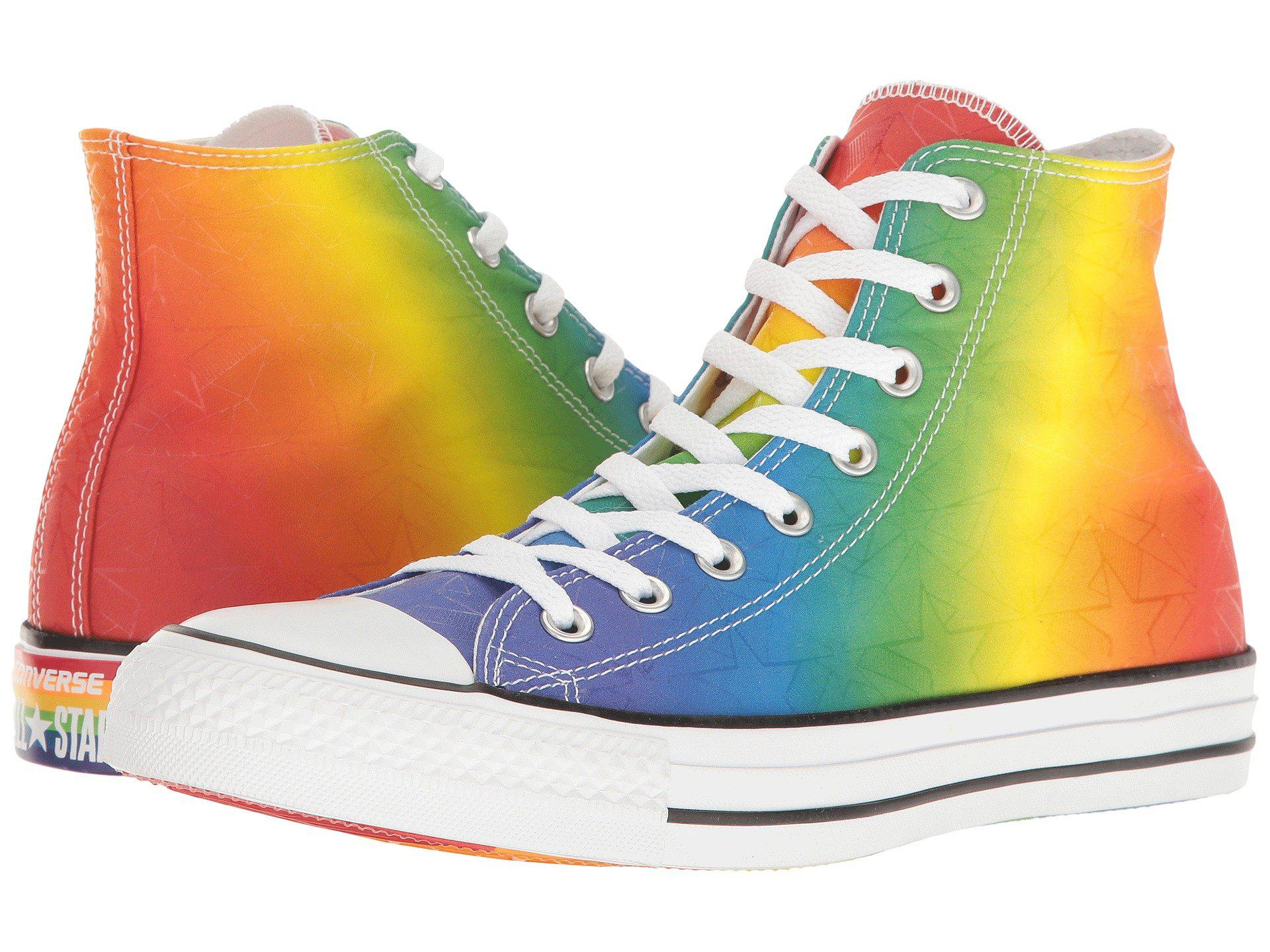 f0d9d9b5671 Lyst - Converse Chuck Taylor® All Star® Hi-pride Collection in Blue ...