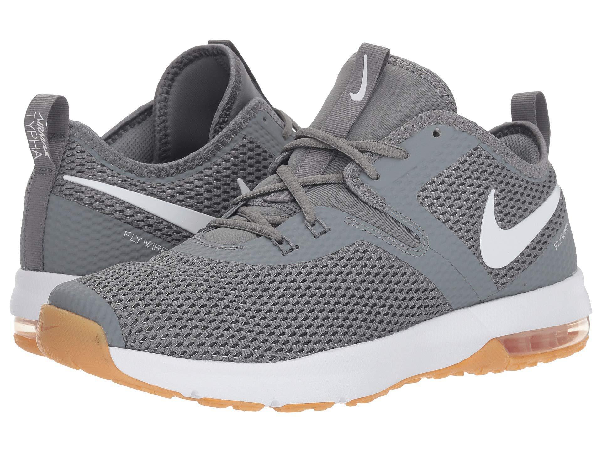 22da3ee23b917 Gray Air Max Typha 2 (cool Grey/white/gum Light Brown) Men's Cross Training  Shoes