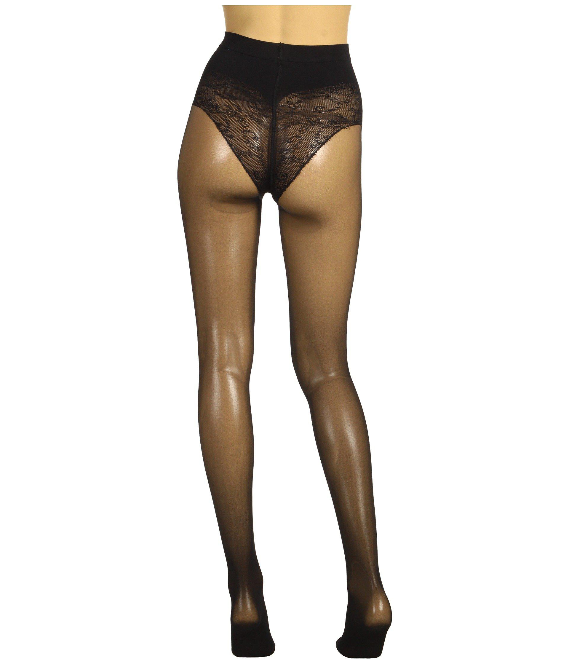 Wolford TUMMY 20 CONTROL TOP Tights Black