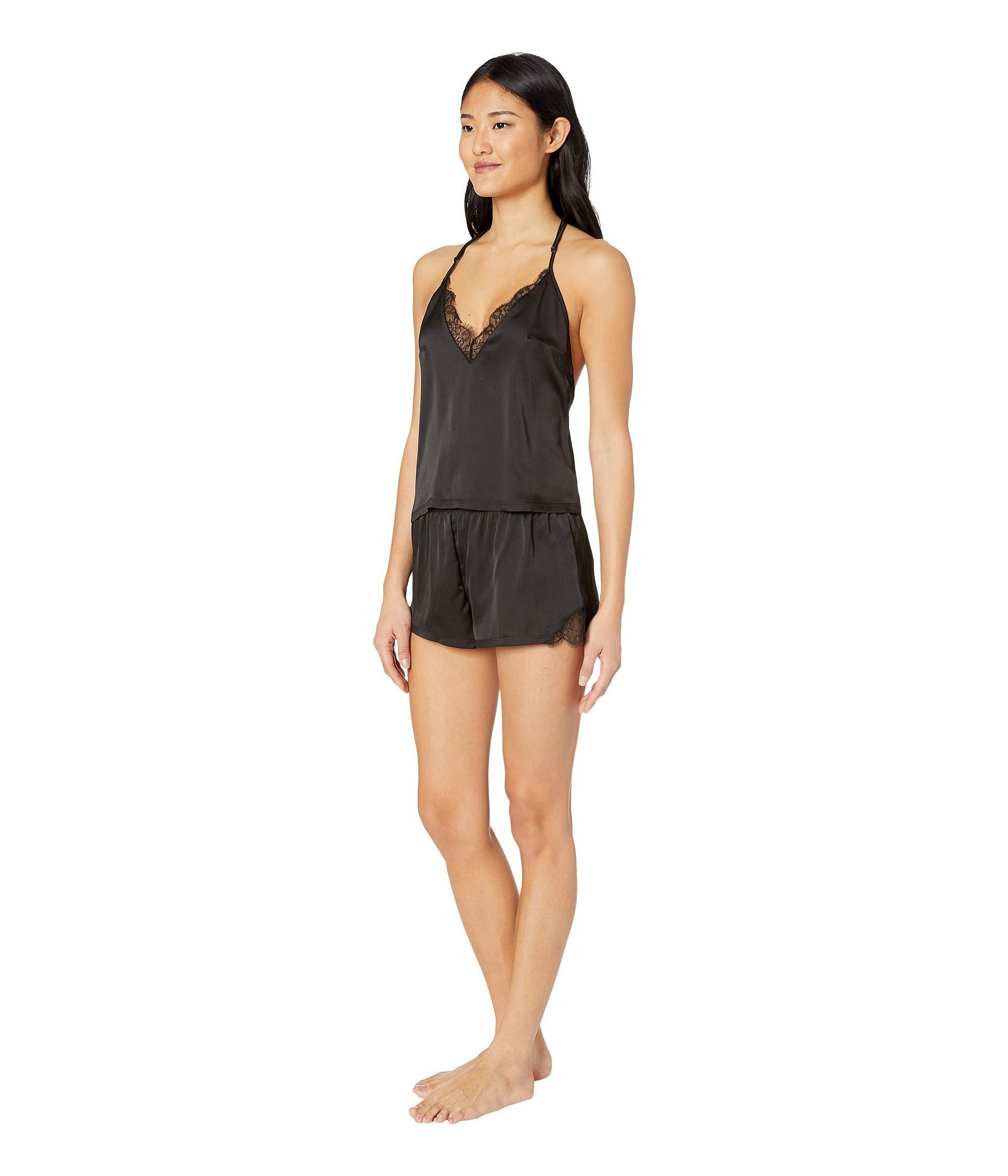 Lyst - Bluebella Ivy Cami And Shorts Set (black) Women s Pajama Sets ... 972038ef7