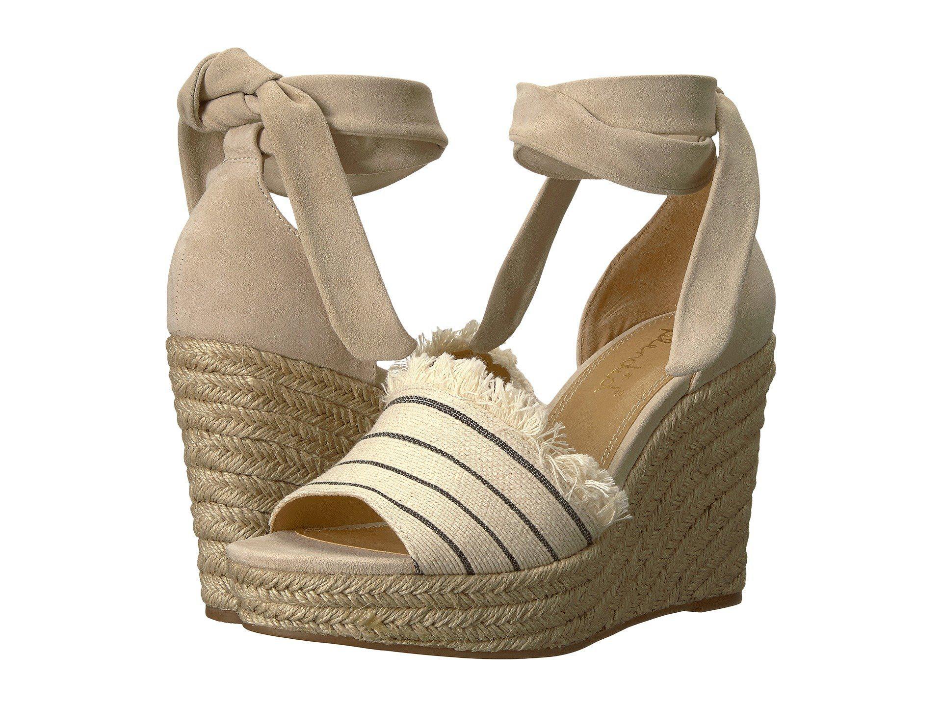 253602b7001 Lyst - Splendid Barke (cream Combo) Women s Wedge Shoes