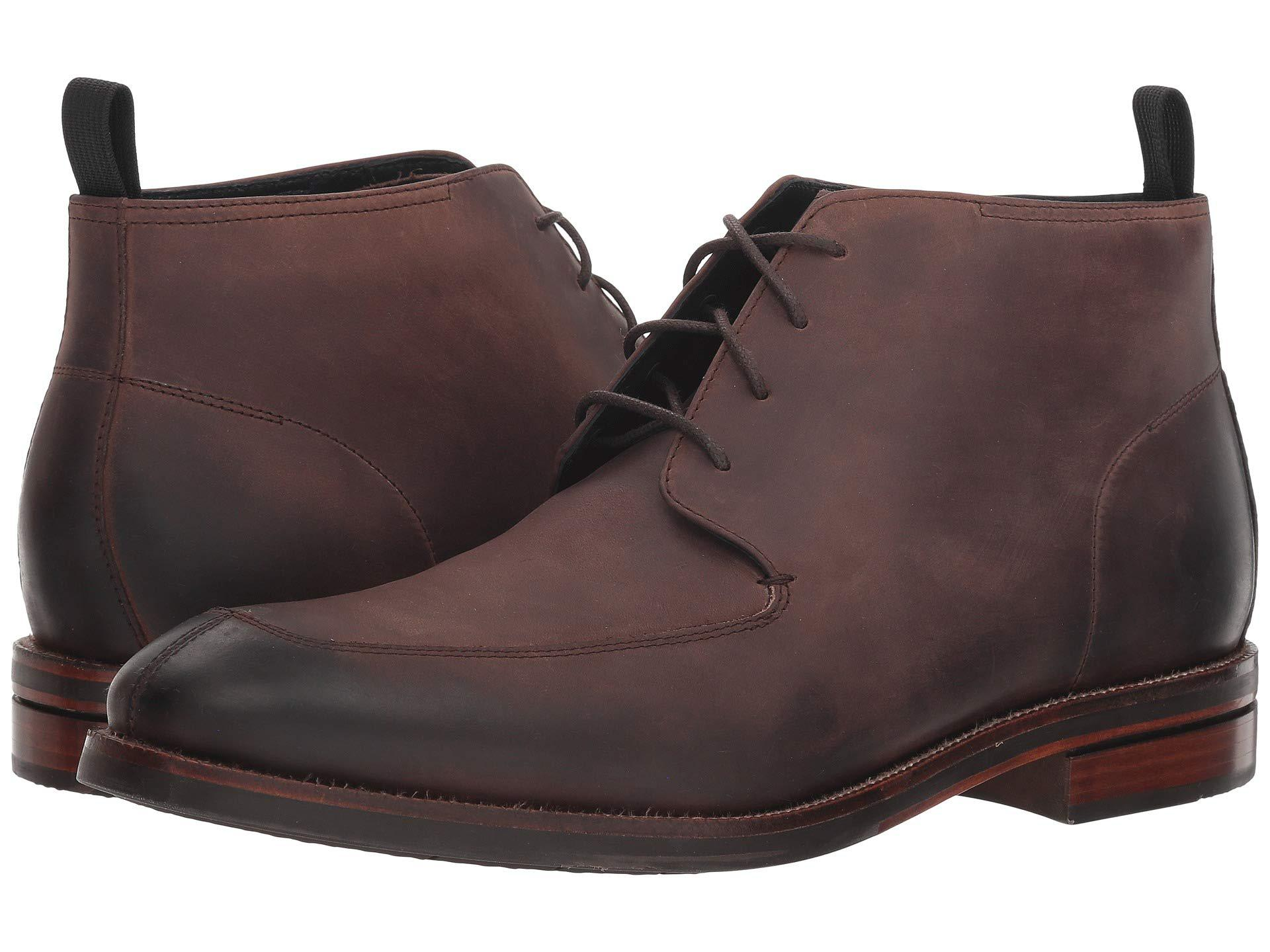 d6479f1848cd8 Cole Haan Wagner Grand Apron Chukka (java Nubuck) Men's Shoes in ...