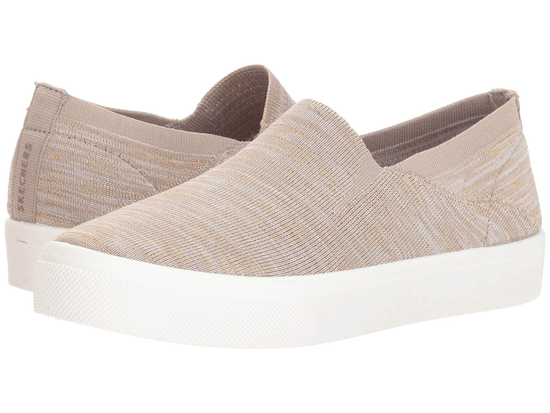 04e2212627ea Lyst - Skechers Poppy (black 1) Women s Shoes