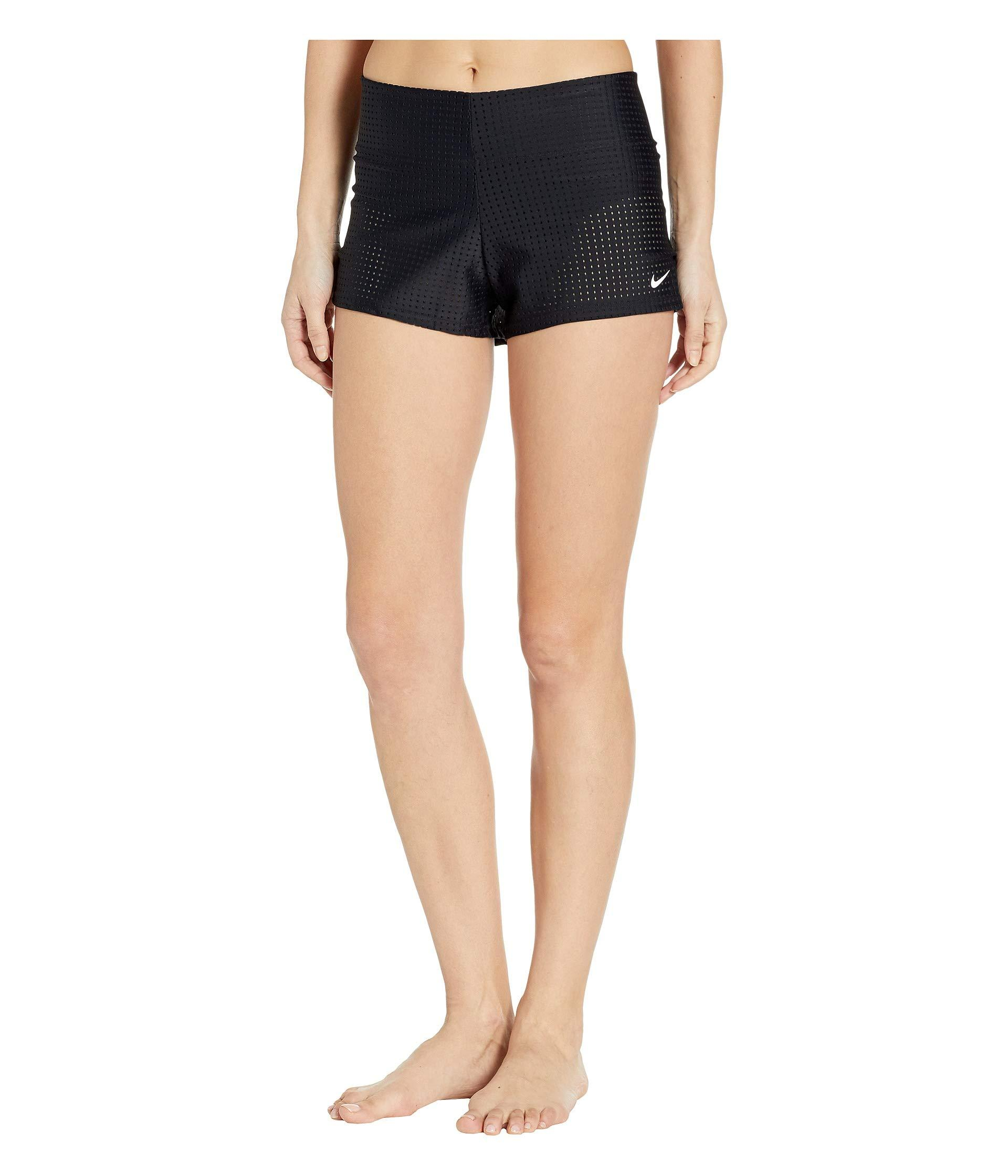e6038b6802 Nike - Black Sport Mesh Swim Boardshorts - Lyst. View fullscreen