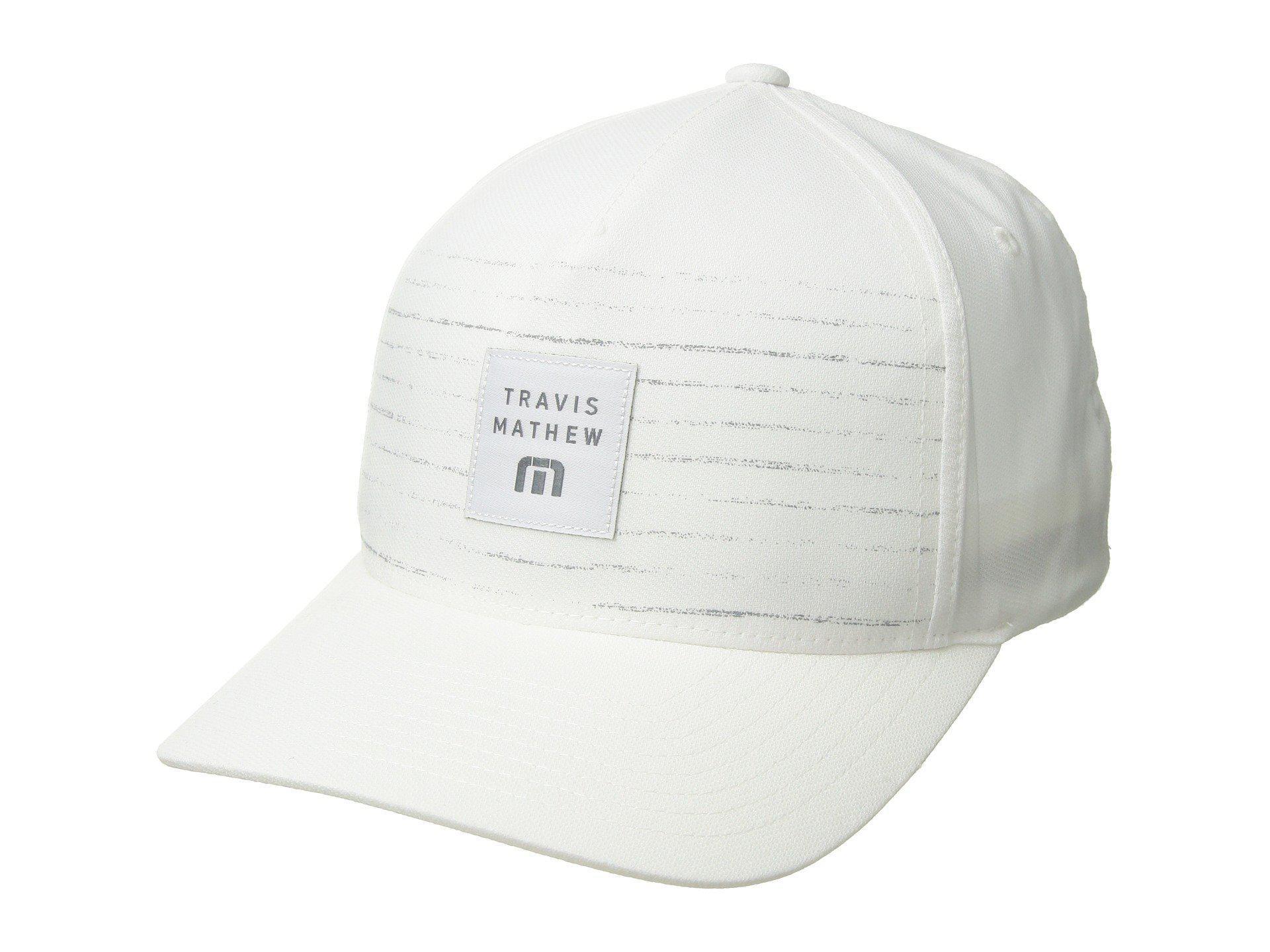 Lyst - Travis Mathew Edmiston (black) Baseball Caps in White for Men 985fa57f044f