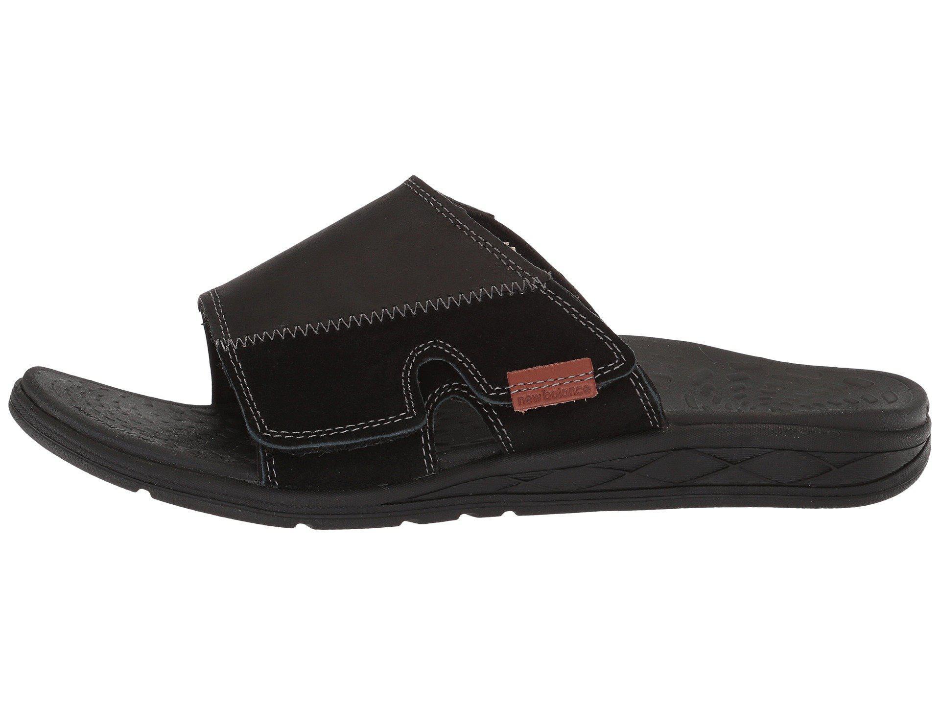 New Balance Leather Quest Slide Sandal