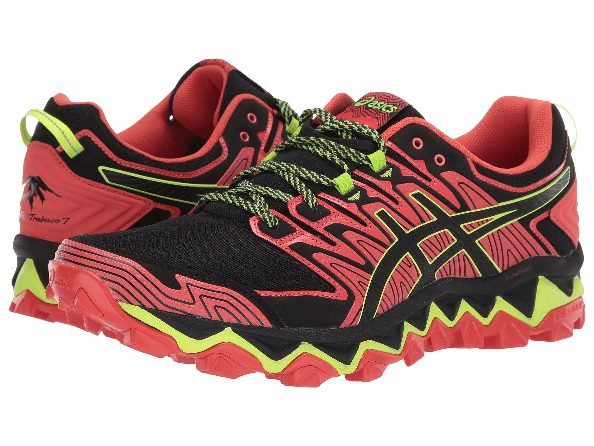 804b874ea77 Lyst - Asics Gel-fujitrabuco 7 Running Shoes in Red for Men